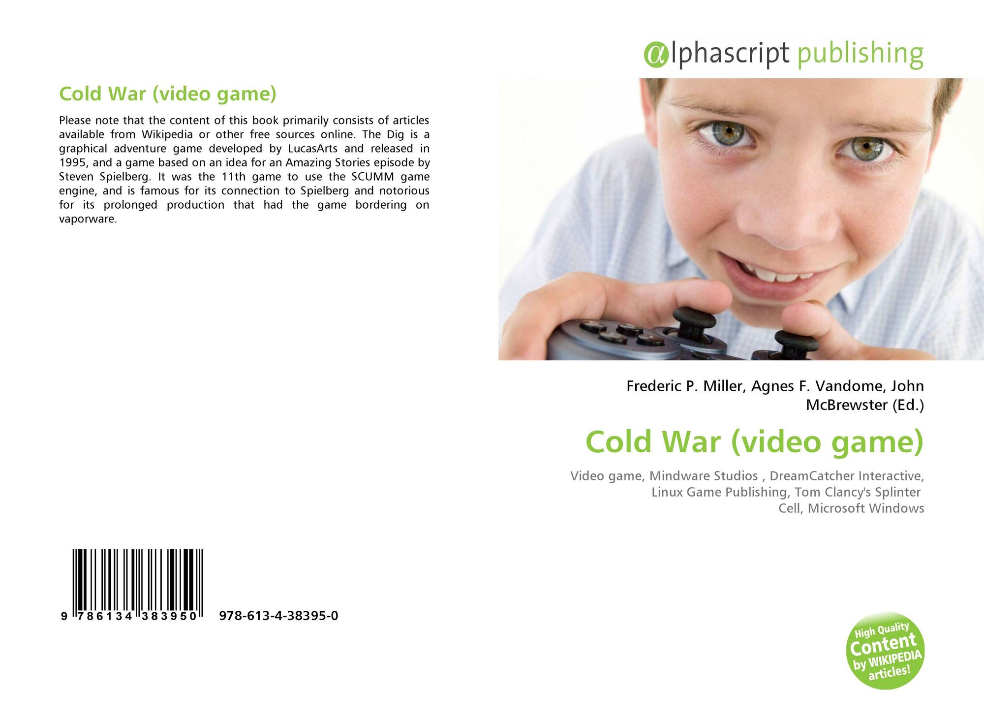 Cold War (video game), 978-613-4-38395-0, 6134383953