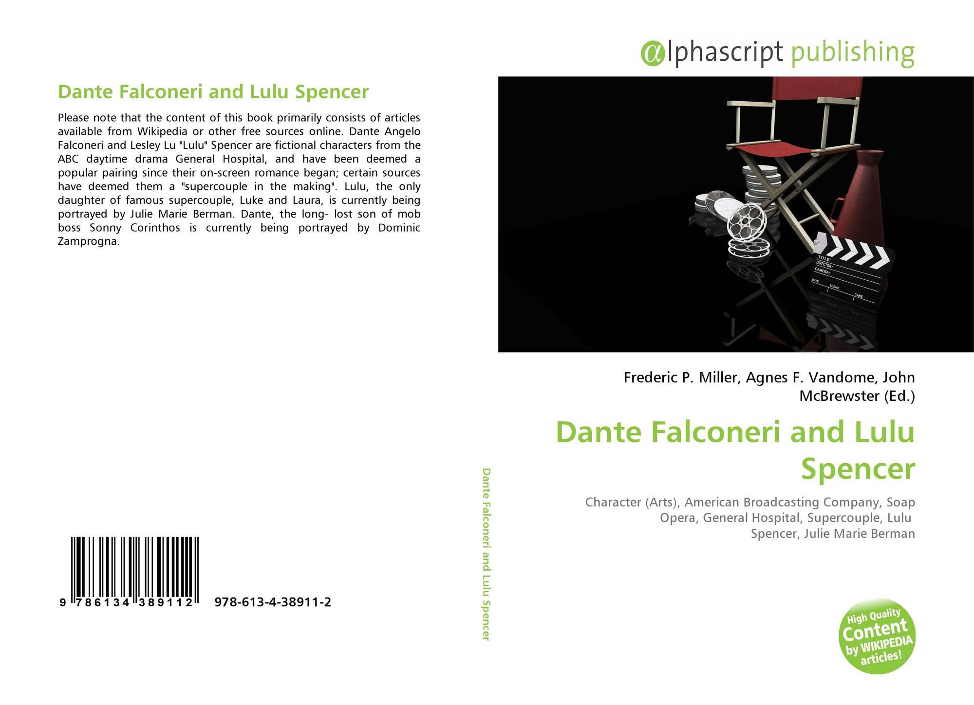 purchase cheap a47cb e02dc Dante Falconeri and Lulu Spencer, 978-613-4-38911-2 ...
