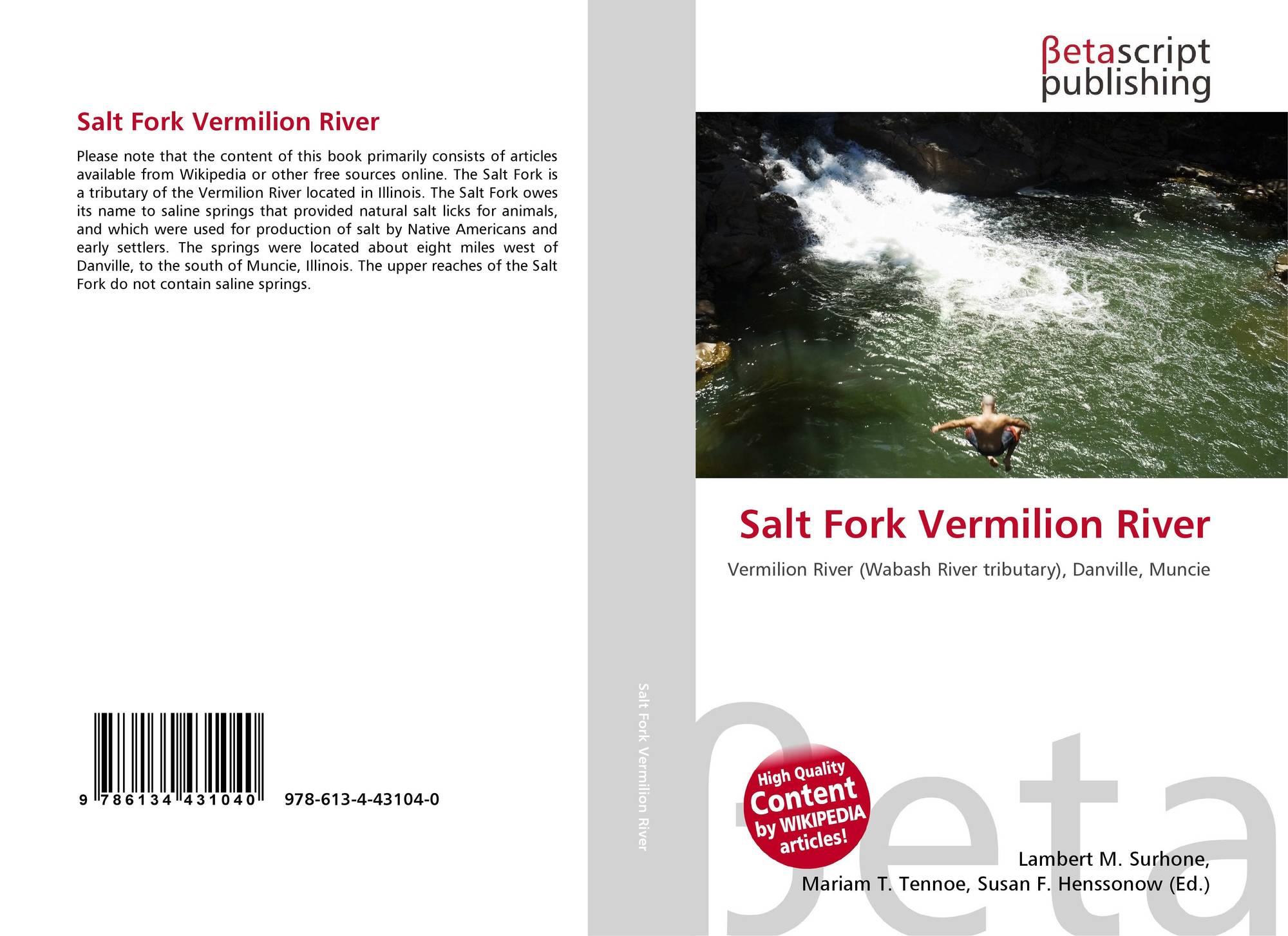 Illinois vermilion county muncie - Bookcover Of Salt Fork Vermilion River