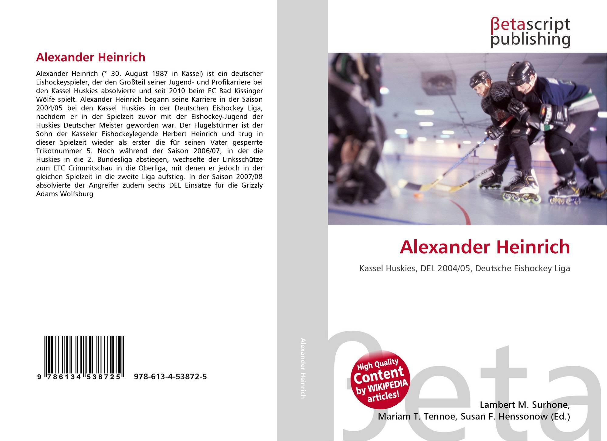 Search results for heinrich karl alexander haenlein for Alexander heinrich