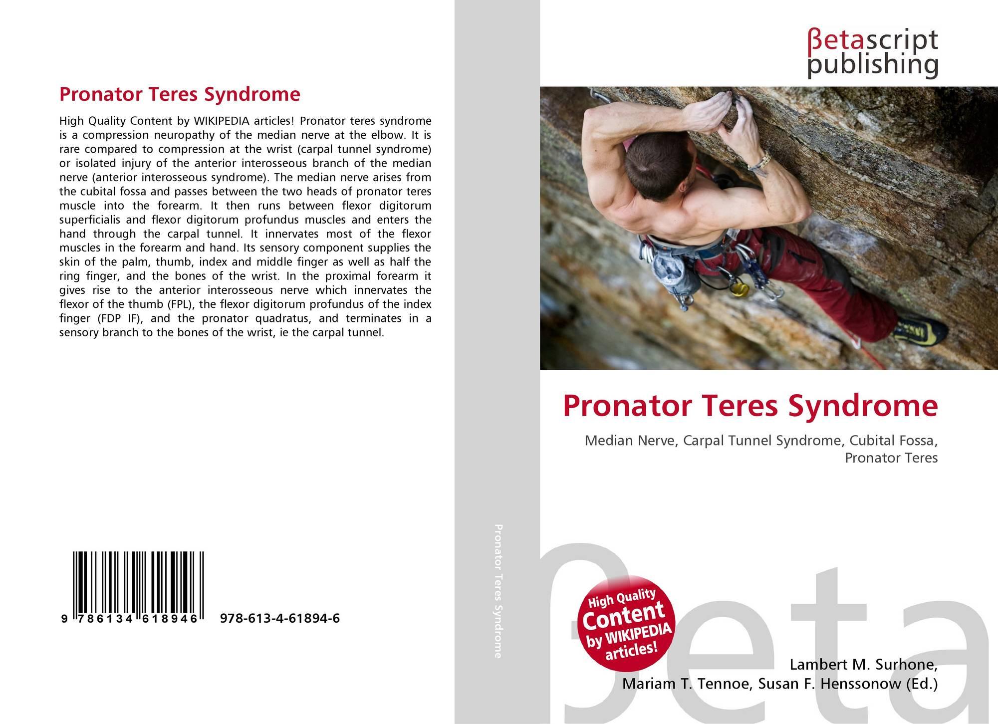 Pronator Teres Syndrome, 978-613-4-61894-6, - 265.4KB
