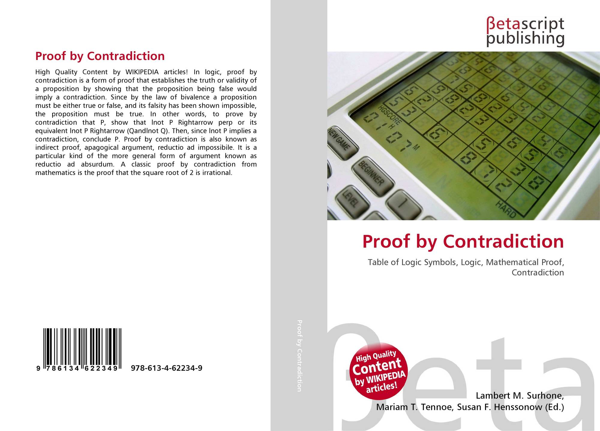 Search results for proof by contradiction bookcover of proof by contradiction buycottarizona Image collections