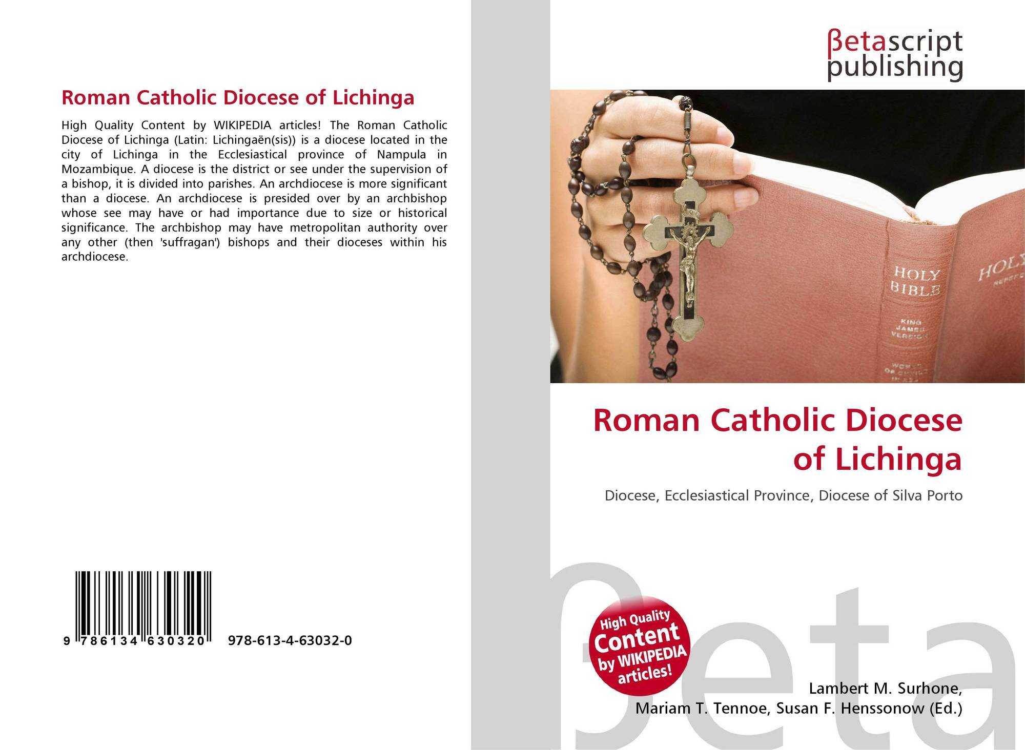 Roman Catholic Diocese of Lichinga #