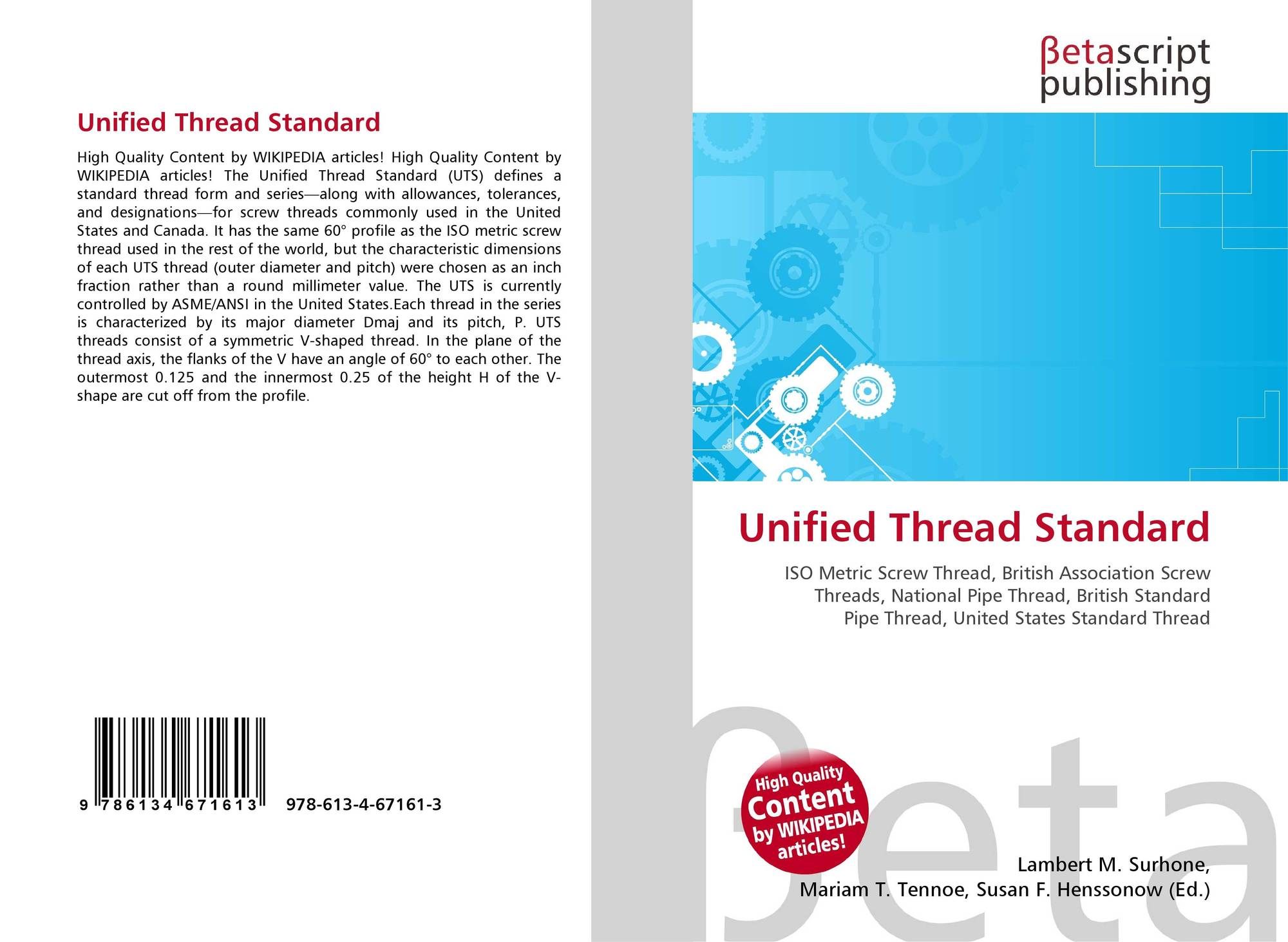 Unified thread standard