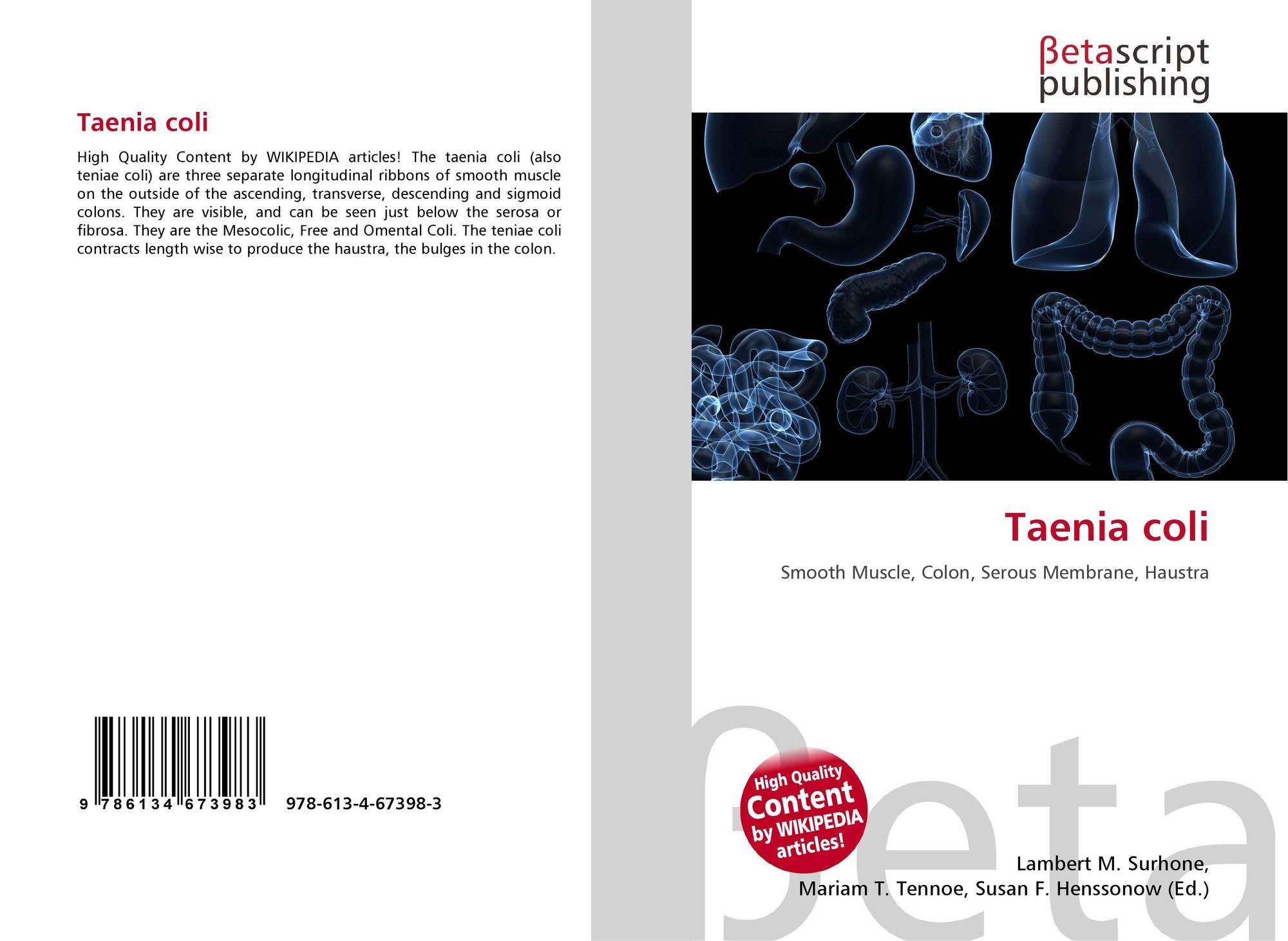 Taenia coli, 978-613-4-67398-3, 6134673986 ,9786134673983