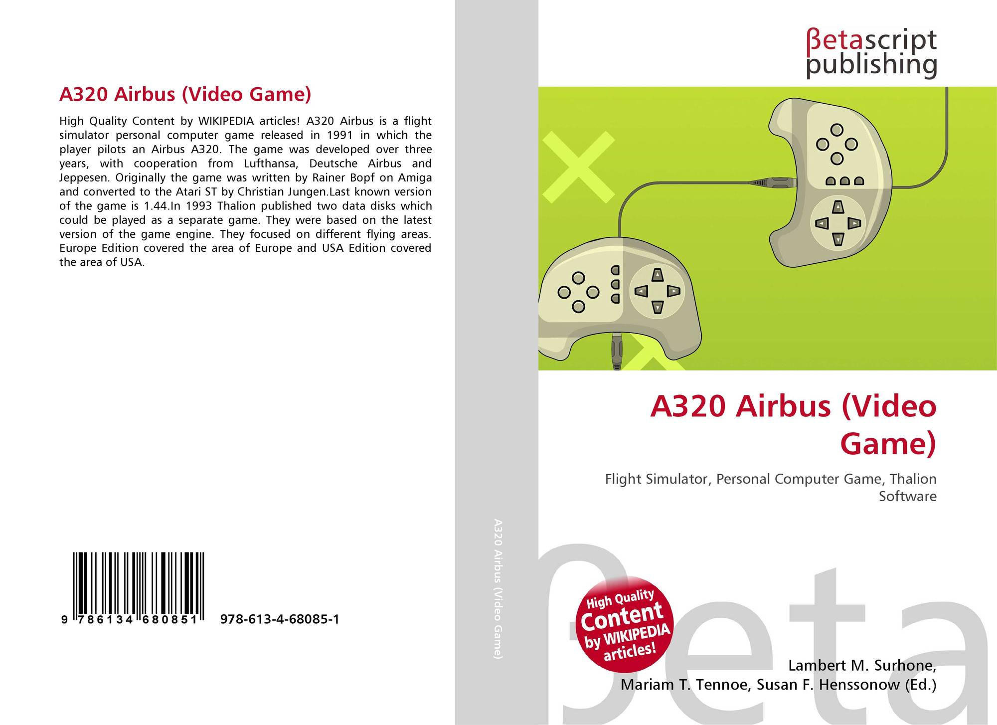 A320 airbus video game