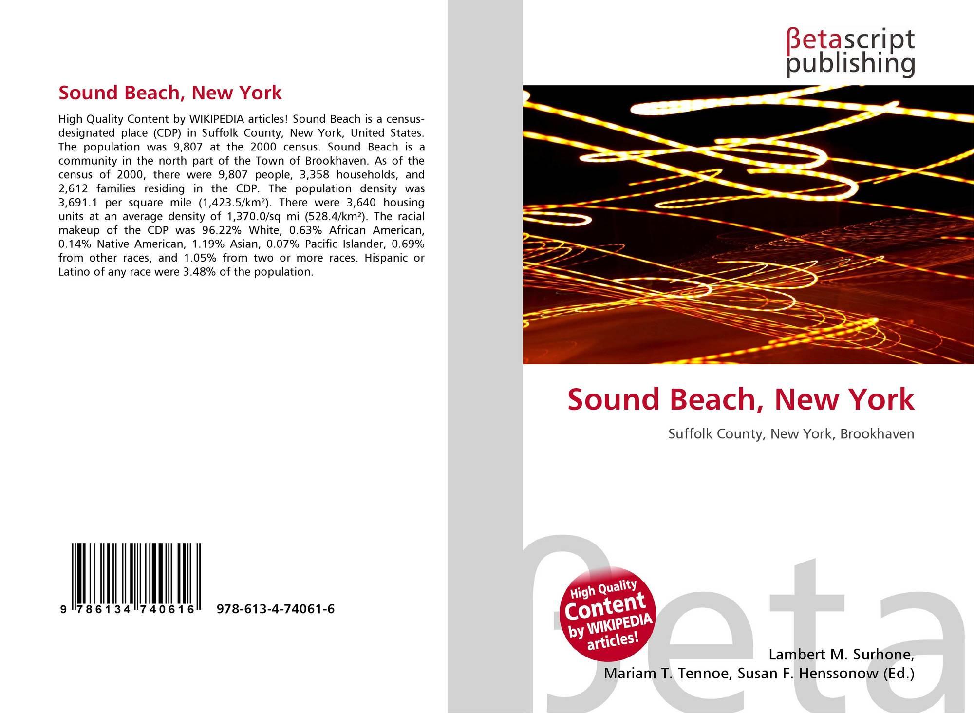 New york suffolk county sound beach - Bookcover Of Sound Beach New York