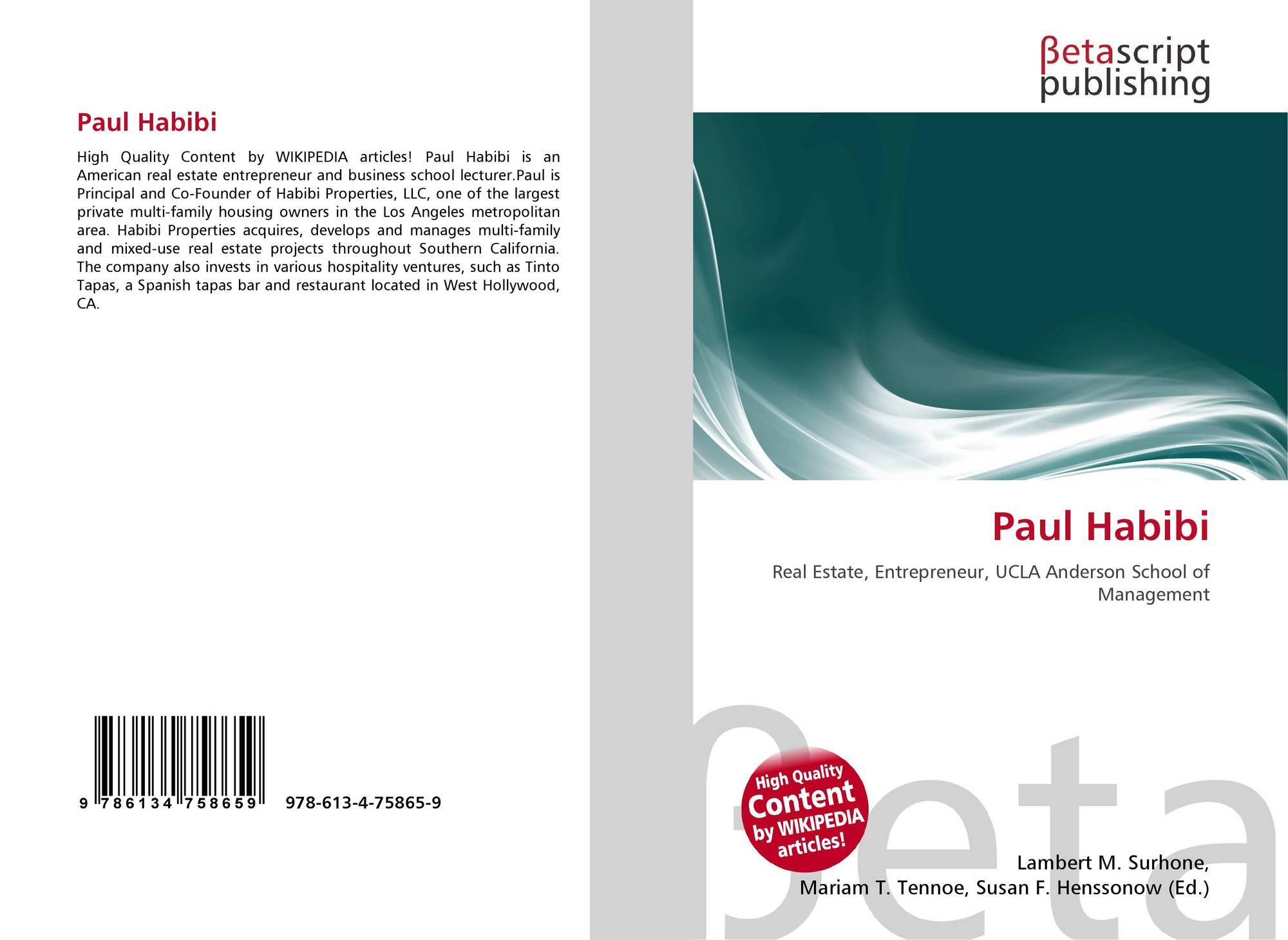 Bookcover of Paul Habibi