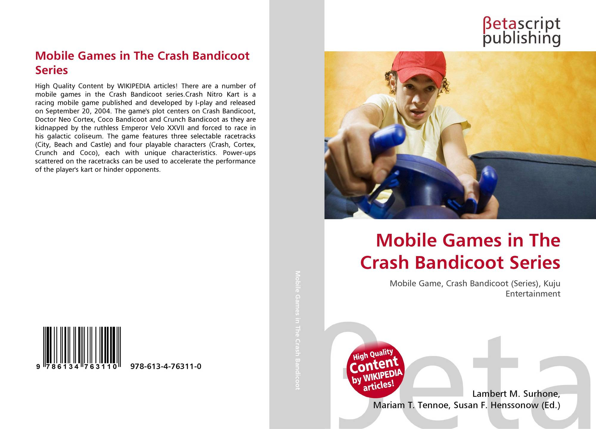 Mobile Games in The Crash Bandicoot Series, 978-613-4-76311