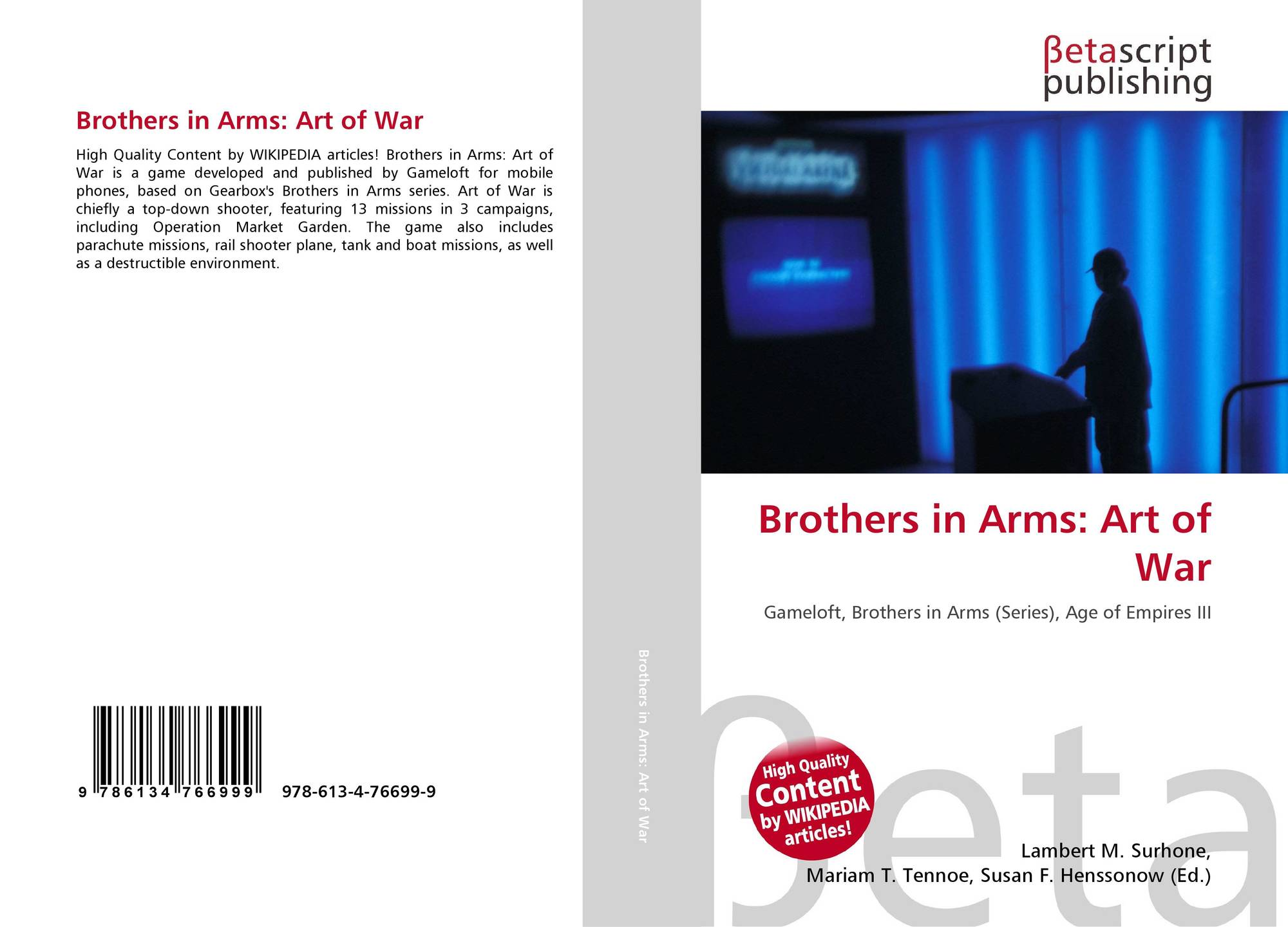 Brothers in Arms: Art of War, 978-613-4-76699-9, 6134766992