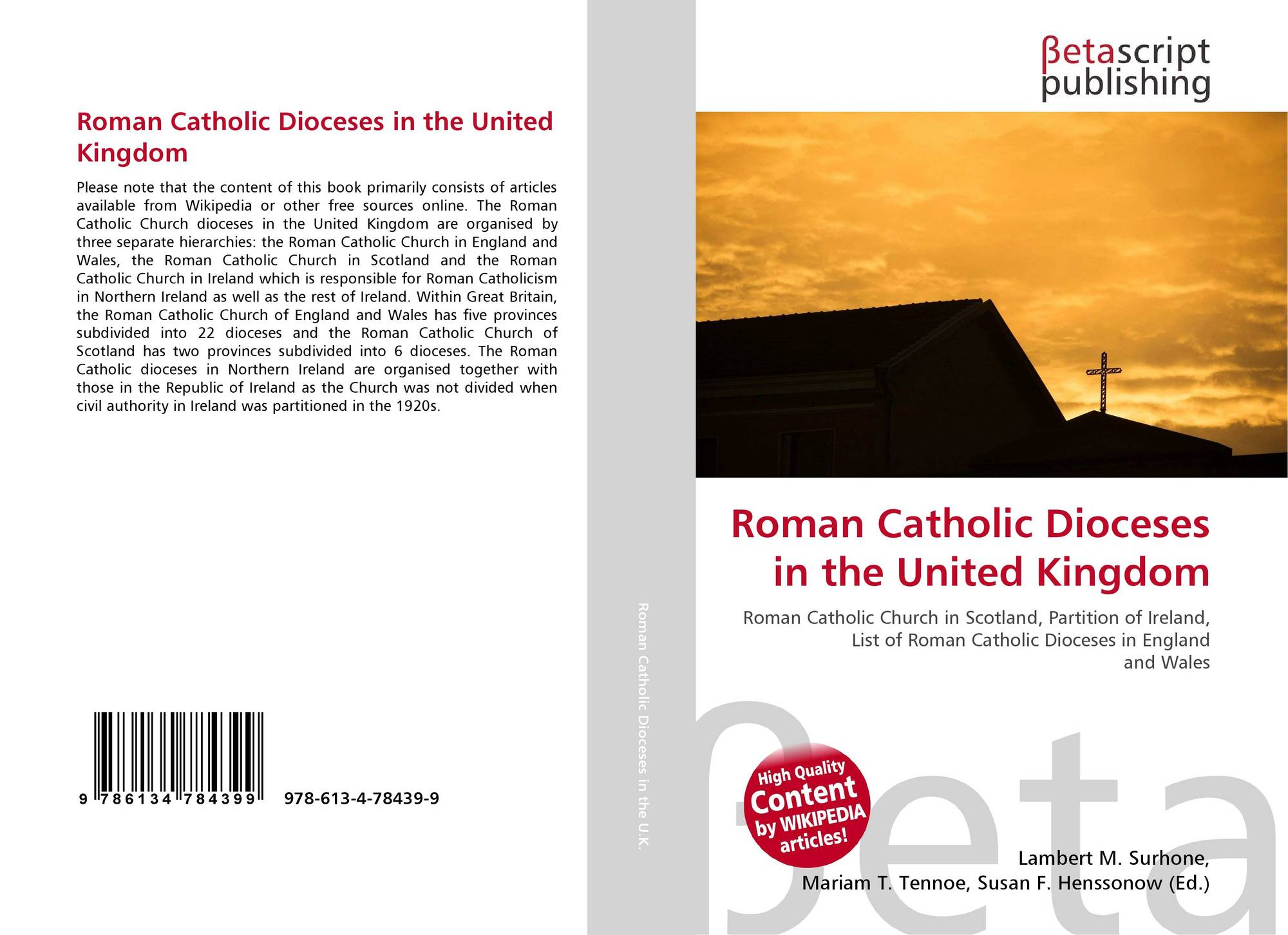 Roman Catholic Dioceses in the United Kingdom, 978-613-4 ...