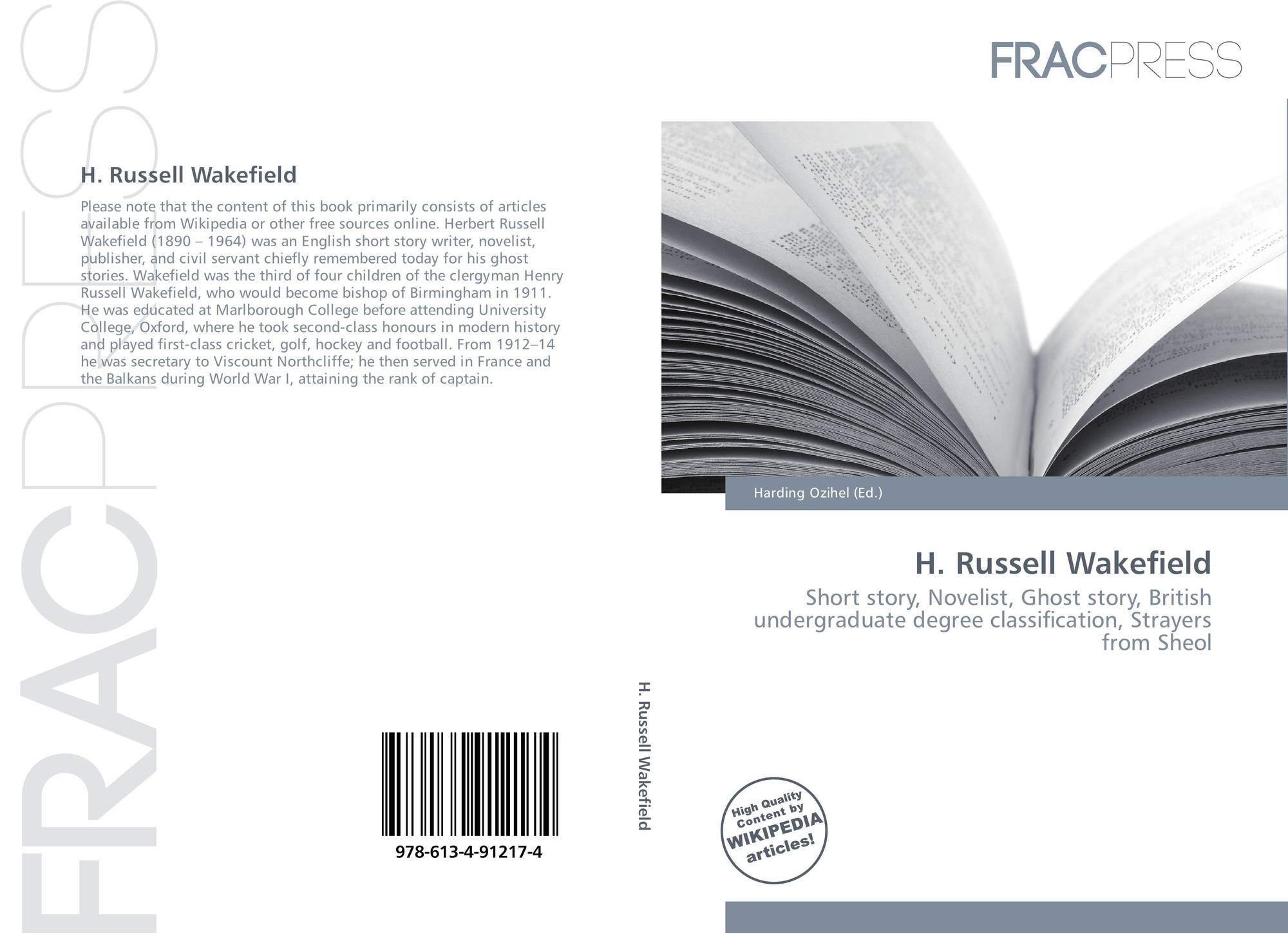search results for sheol bookcover of h russell wakefield