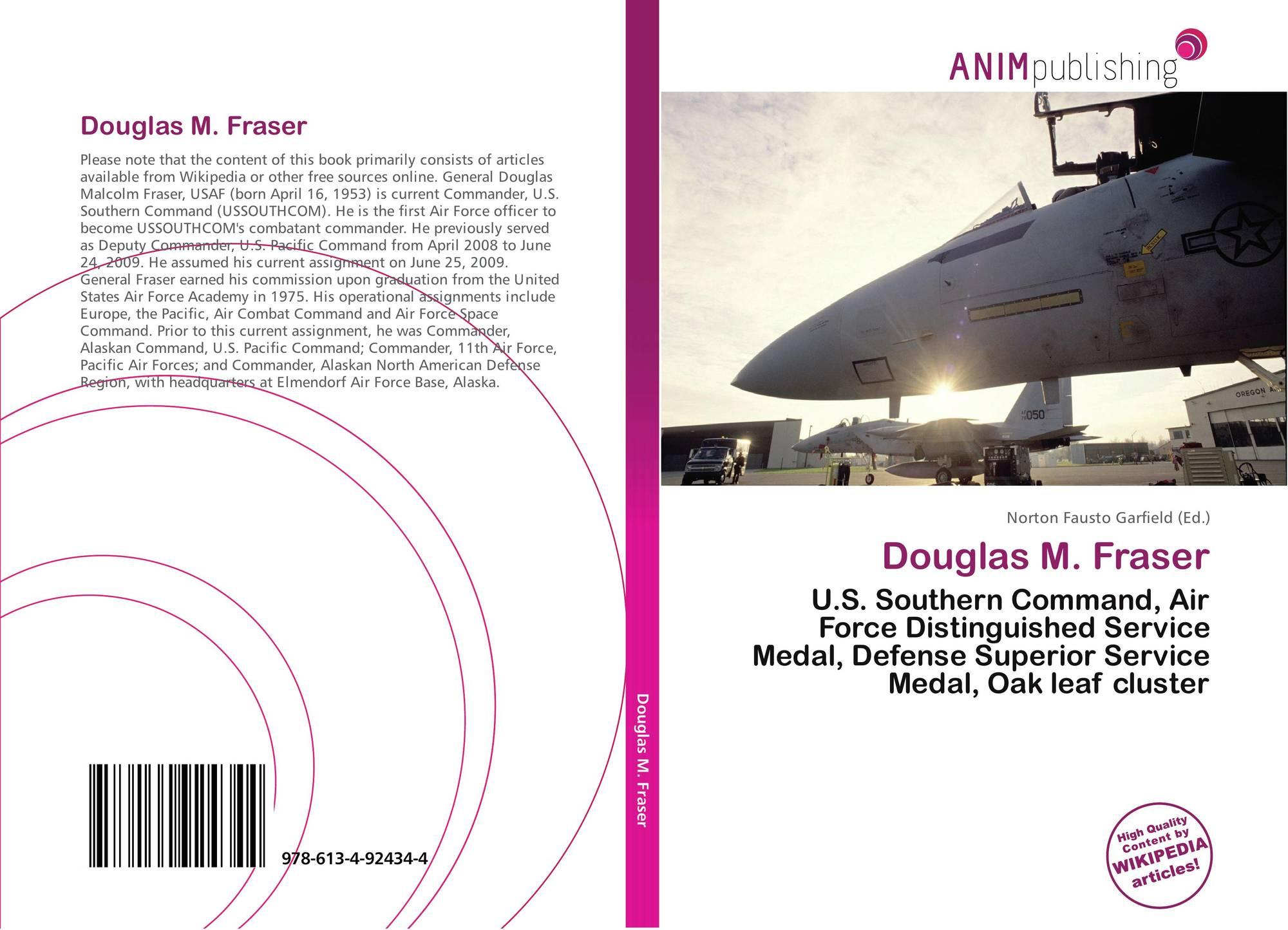Douglas M  Fraser, 978-613-4-92434-4, 6134924342 ,9786134924344