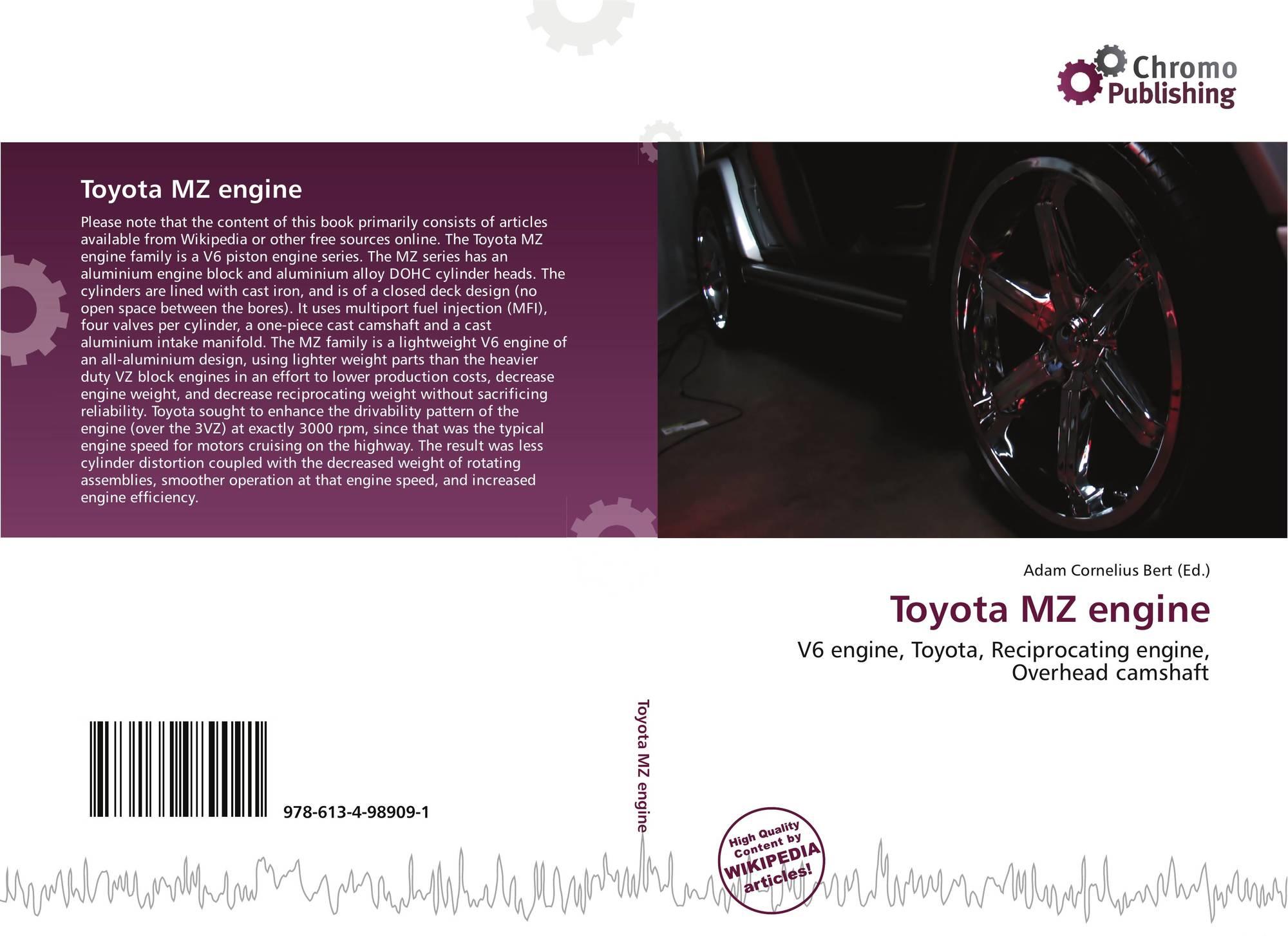 Toyota MZ engine, 978-613-4-98909-1, 6134989096 ,9786134989091