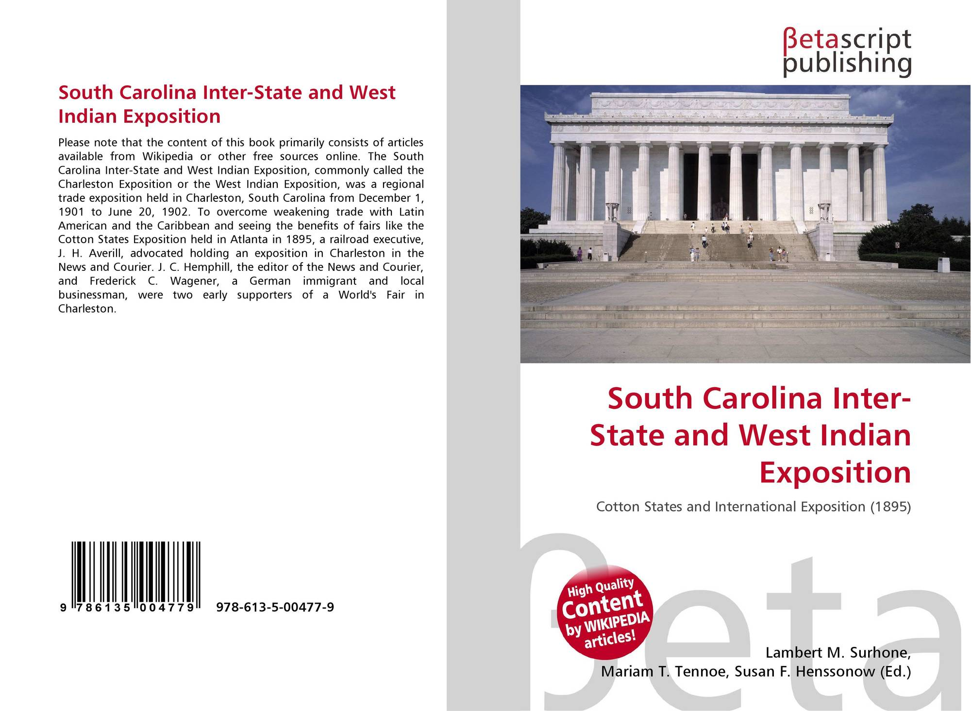 South Carolina Inter-State and West Indian Exposition, 978