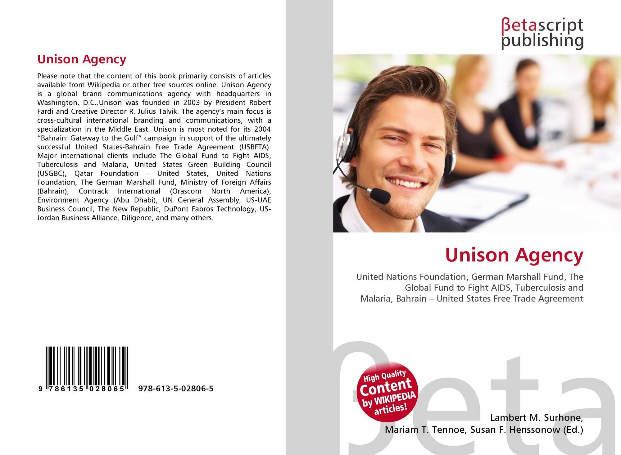 Unison Agency, 978-613-5-02806-5, 6135028065 ,9786135028065