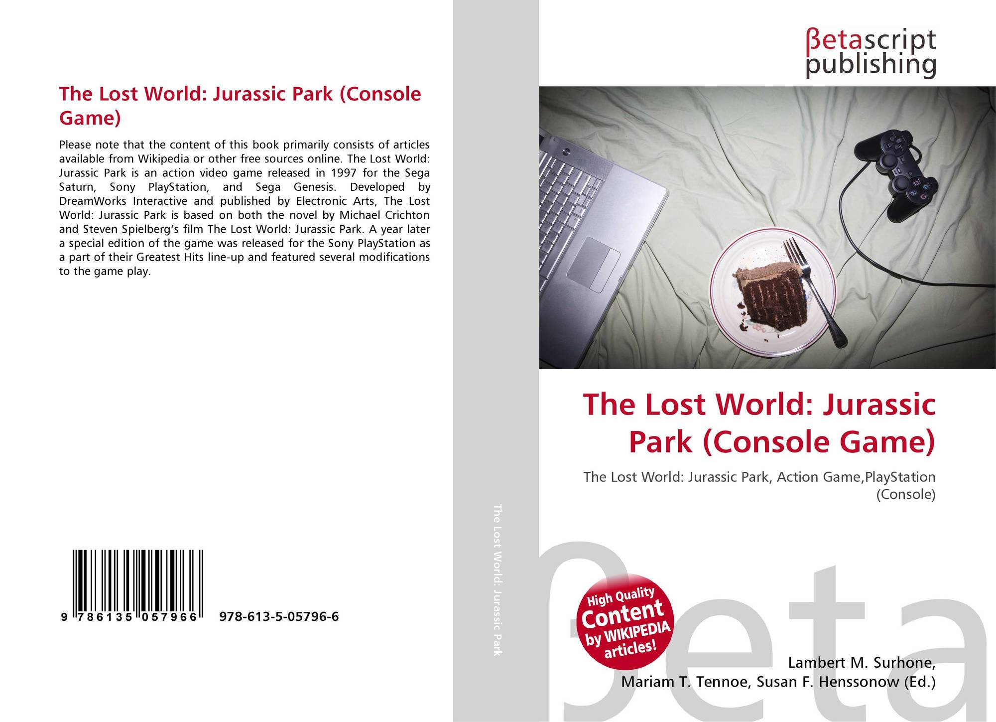 The Lost World: Jurassic Park (Console Game), 978-613-5