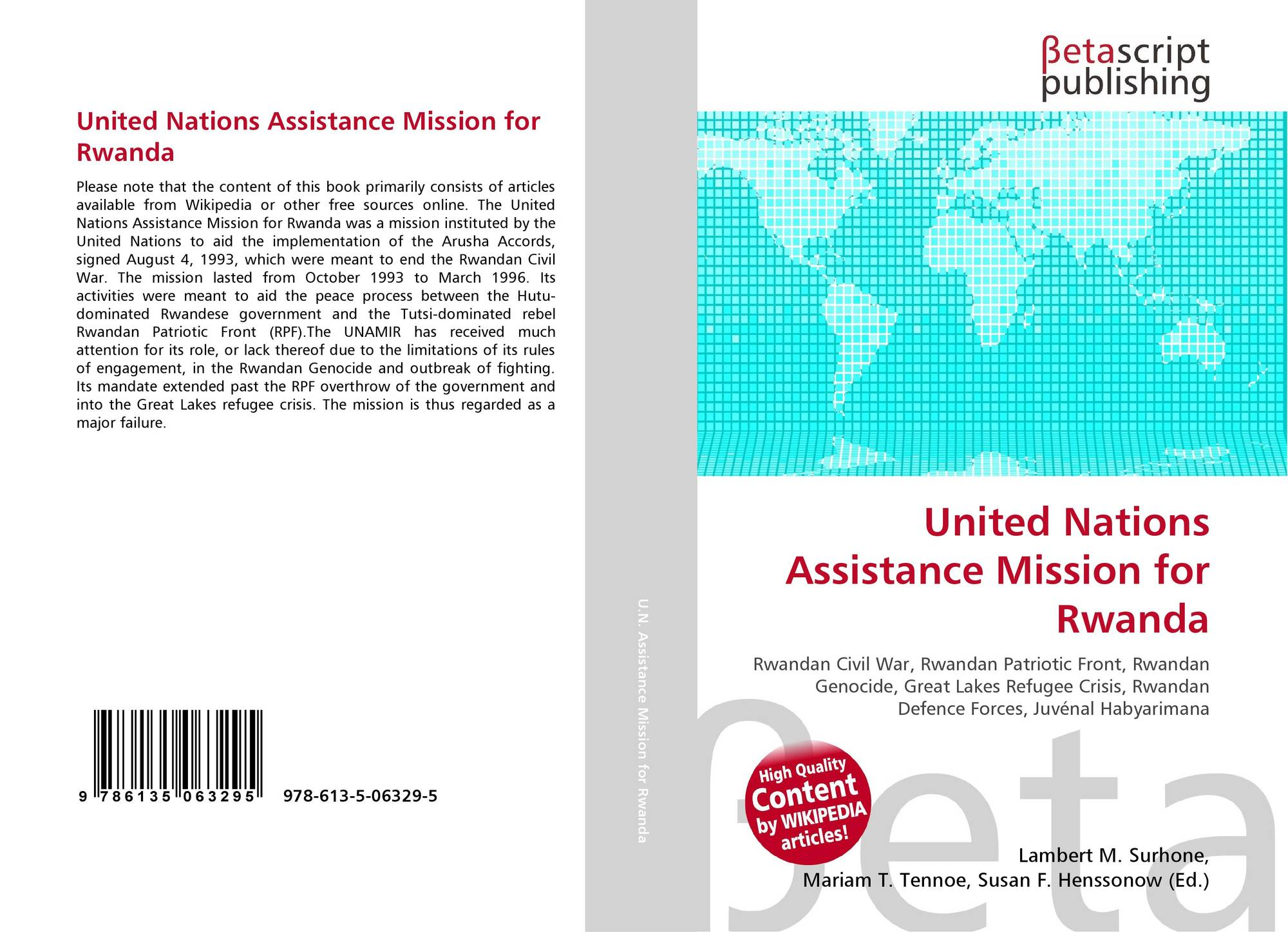unamir united nations assistance mission for Amy davidson united nations assistance mission for rwanda this essay will aim to discuss, in depth, the, united nations assistance mission for rwanda (unamir) that took place in rwanda in 1994.