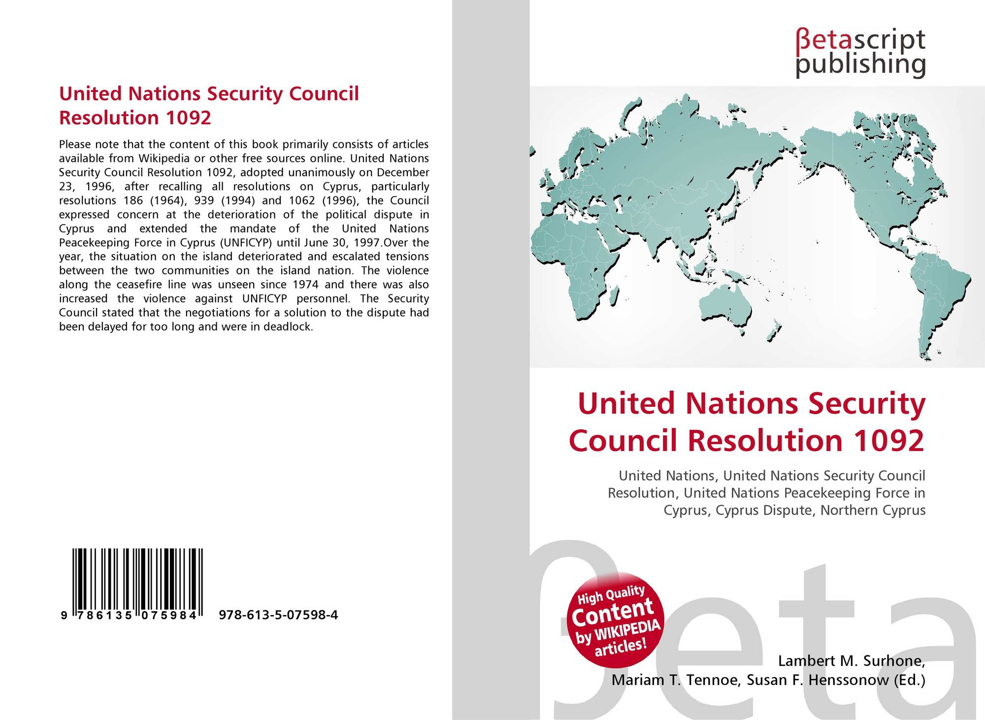 the reformation needed by the united nations to remain effective In 1994 it launched an international initiative educating for a sustainable future the need for effective are most effective the united nations system.