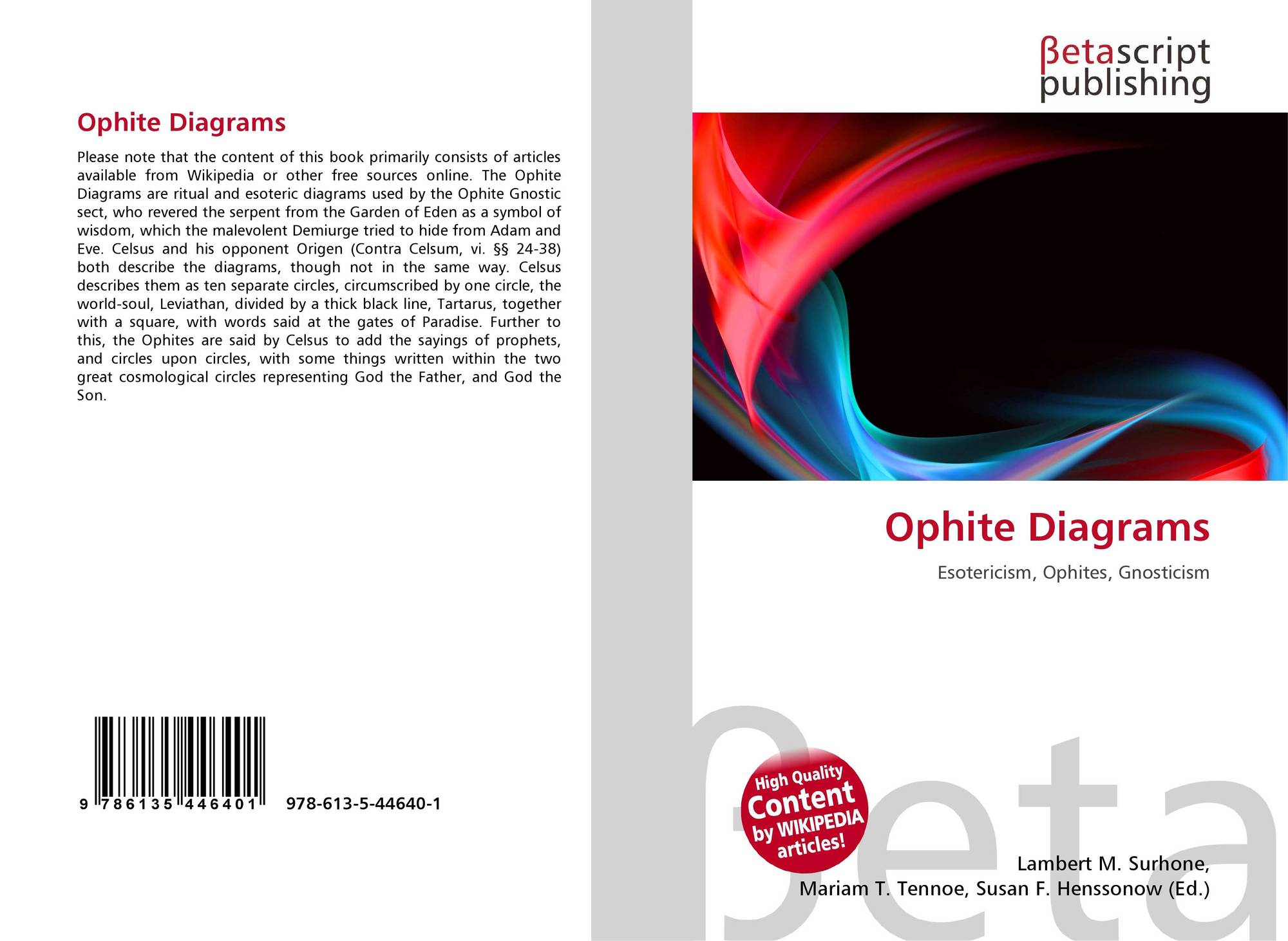 Ophite diagrams 978 613 5 44640 1 6135446401 9786135446401 bookcover of ophite diagrams pooptronica Choice Image