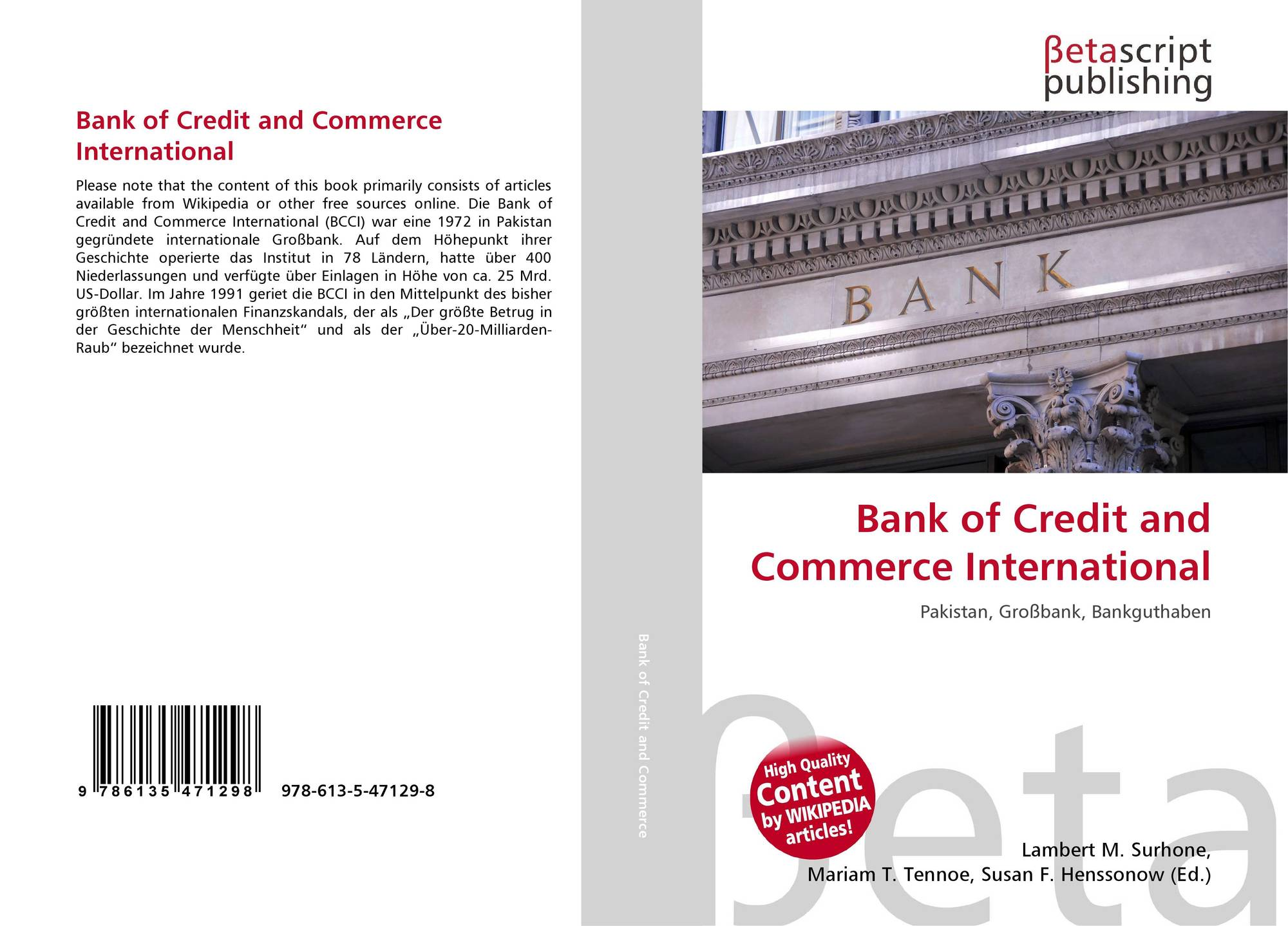 bank of credit and commerce Malik and mahmud v bank of credit and commerce international sa [1997] ukhl 23 is a leading english contract law and uk labour law case, which confirmed the existence of the implied term of mutual trust and confidence in all contracts of employment.