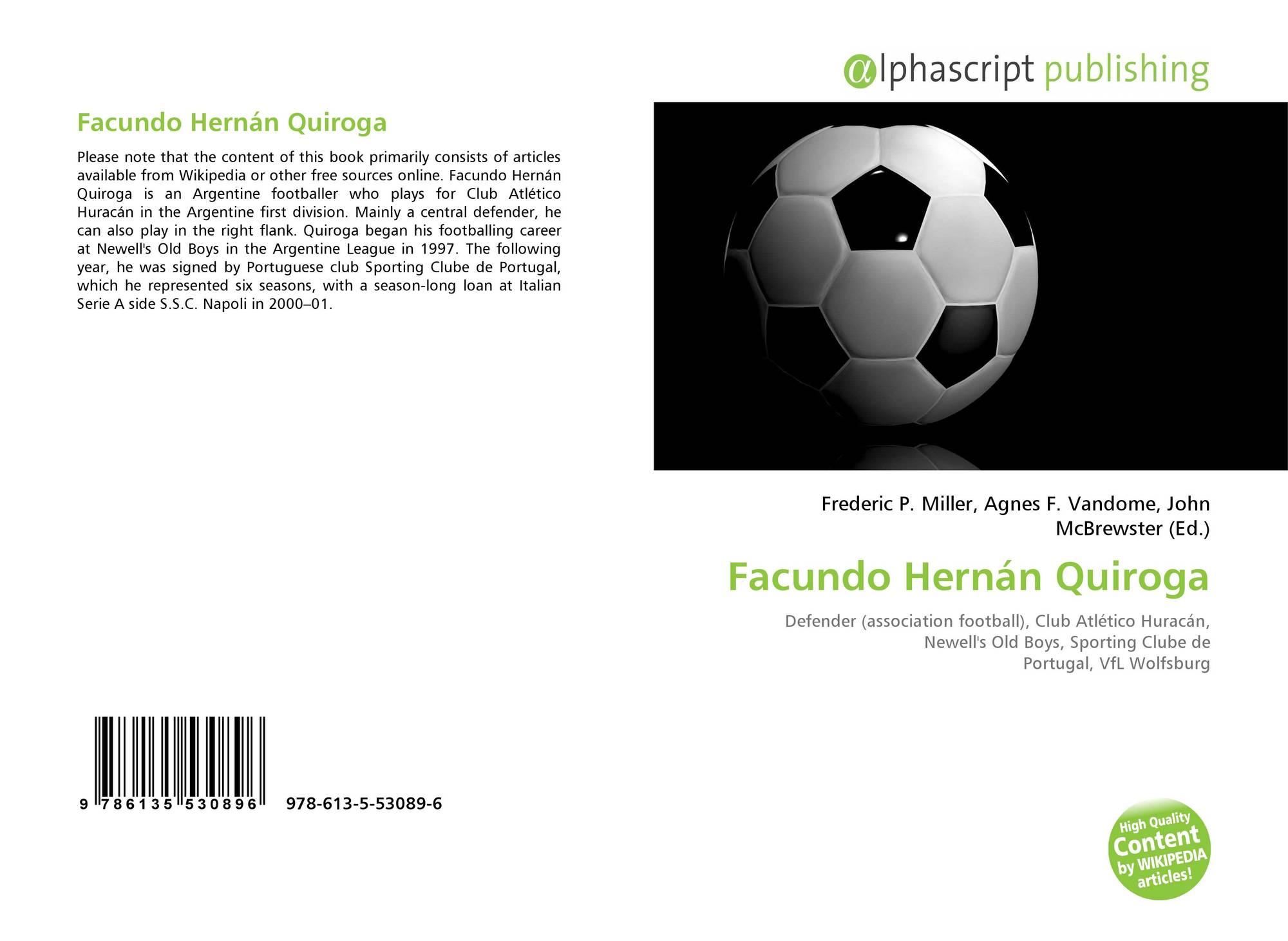 Facundo Hernán Quiroga 978 613 5 53089 6 6135530895 9786135530896