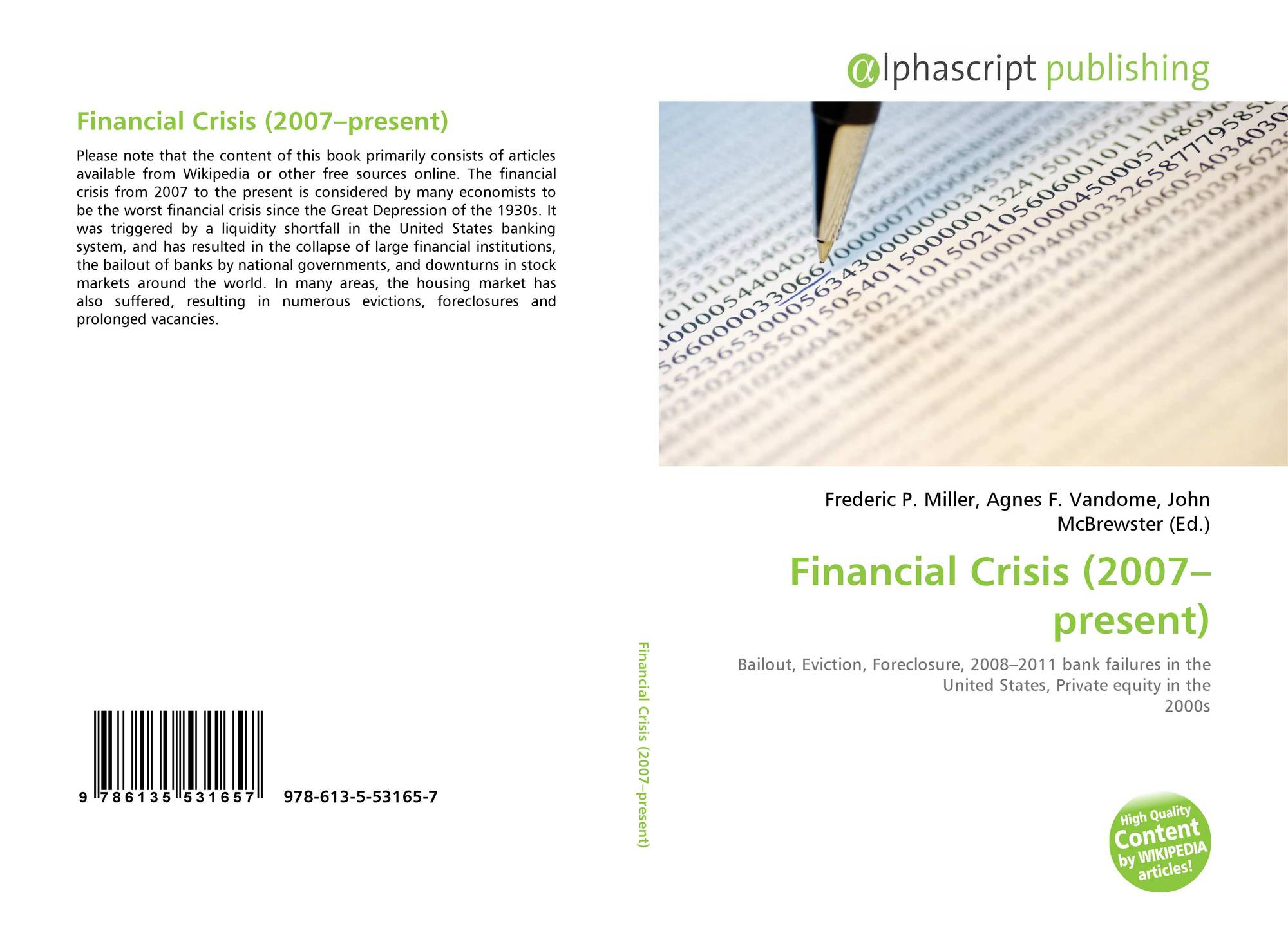 economics and the foreclosure crisis essay Of the 2005 bankruptcy reform law on the foreclosure crisis during the great recession in the second essay, i use a game theoretical model to show how political institutions shape prospects of.