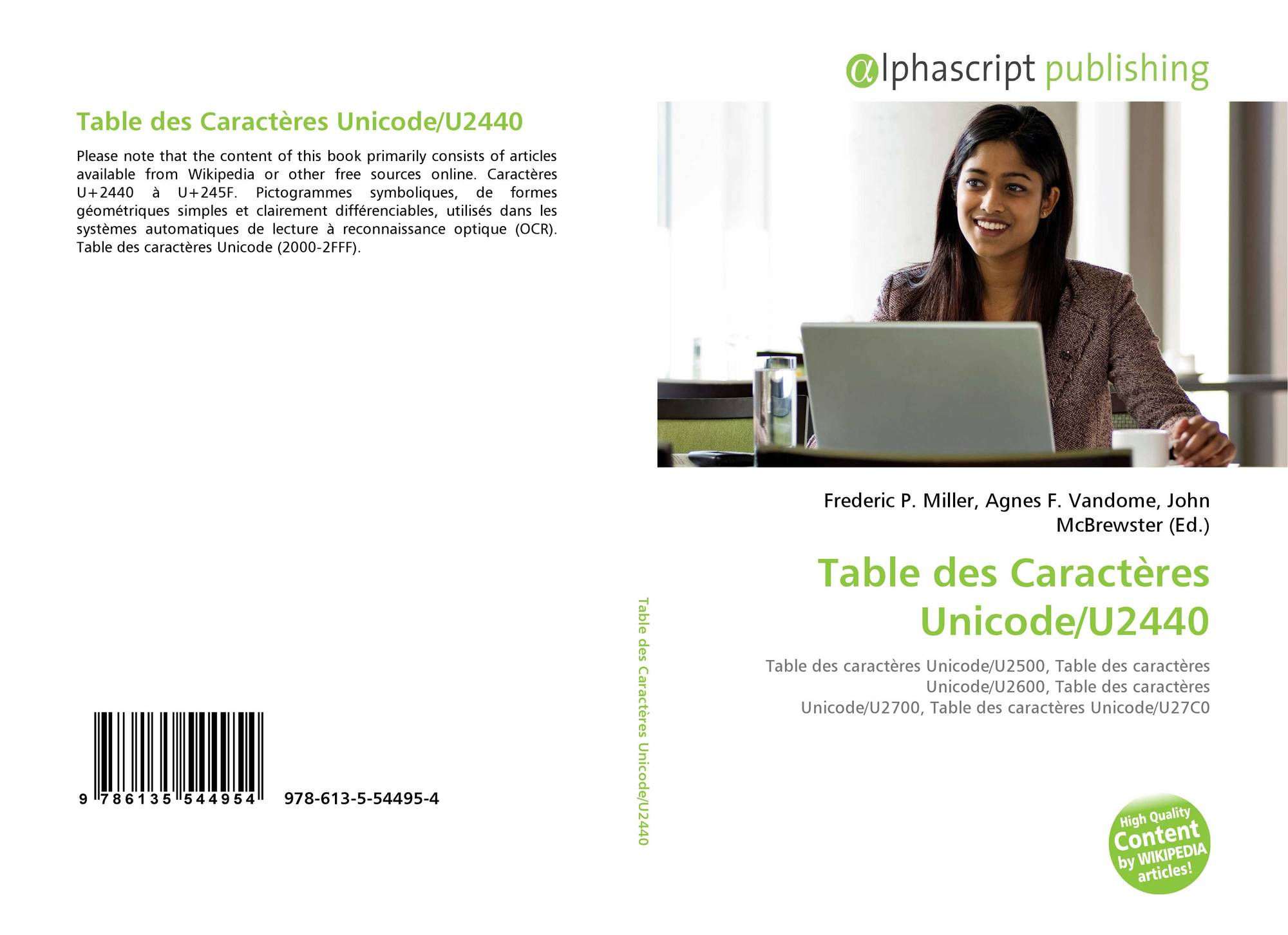 Table des caract res unicode u2440 978 613 5 54495 4 6135544950 9786135544954 - Table de caracteres speciaux ...