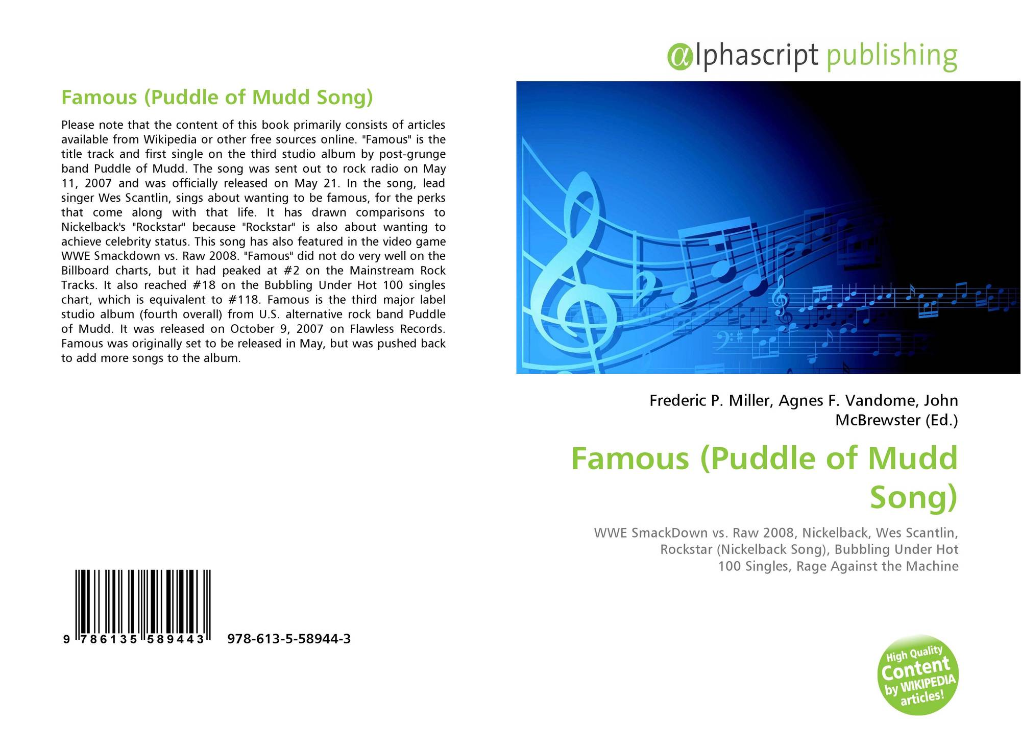 265a48750ecfc5 Famous (Puddle of Mudd Song)