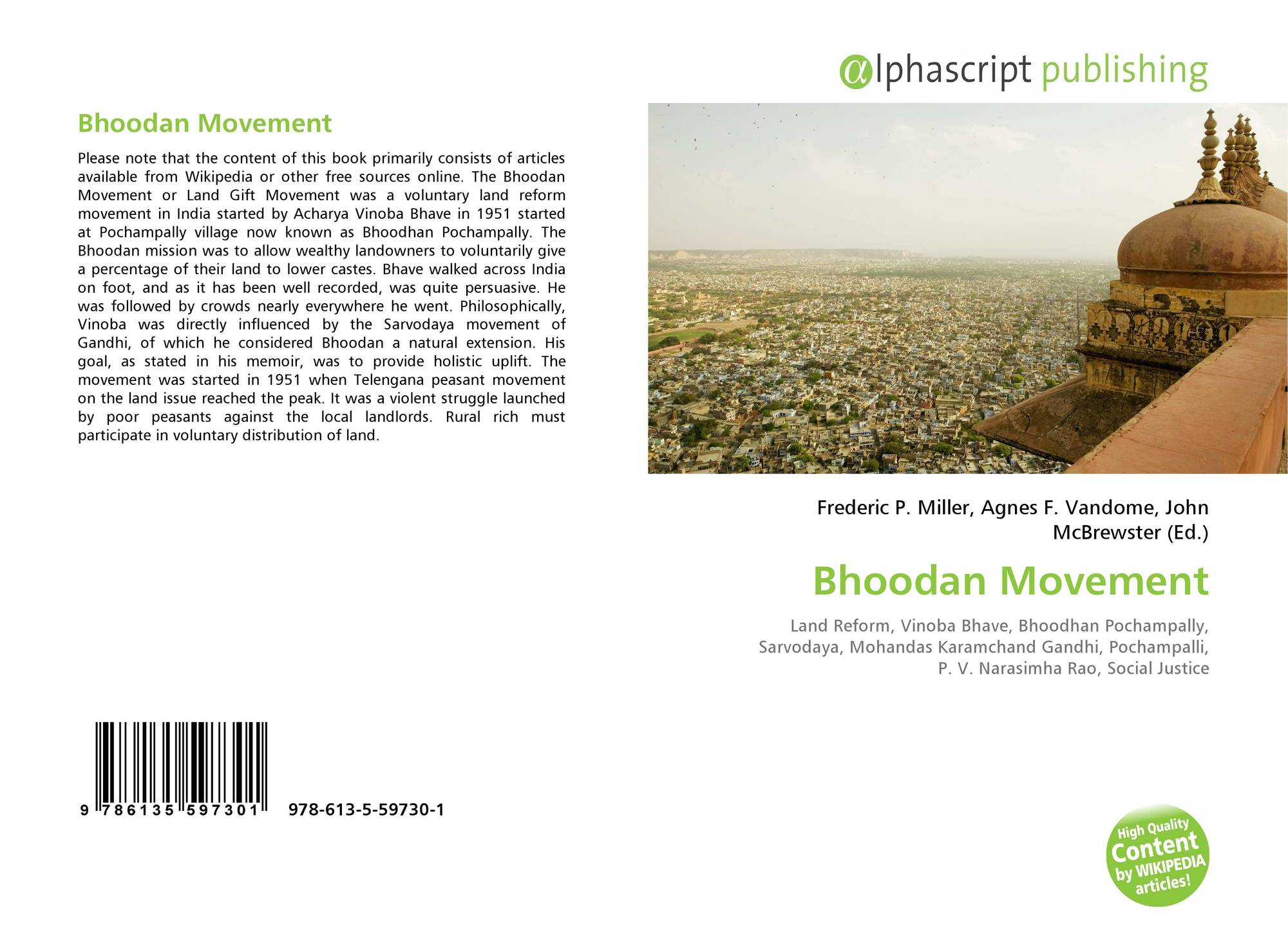 bhoodan movement essay Bhoodan movement in 1951, vinoba bhave started his peace-trek on foot through the violence-torn region of telangana on april 18, 1951, the harijans of the pochampalli village requested him to provide them with around 80 acres of land to make a living.