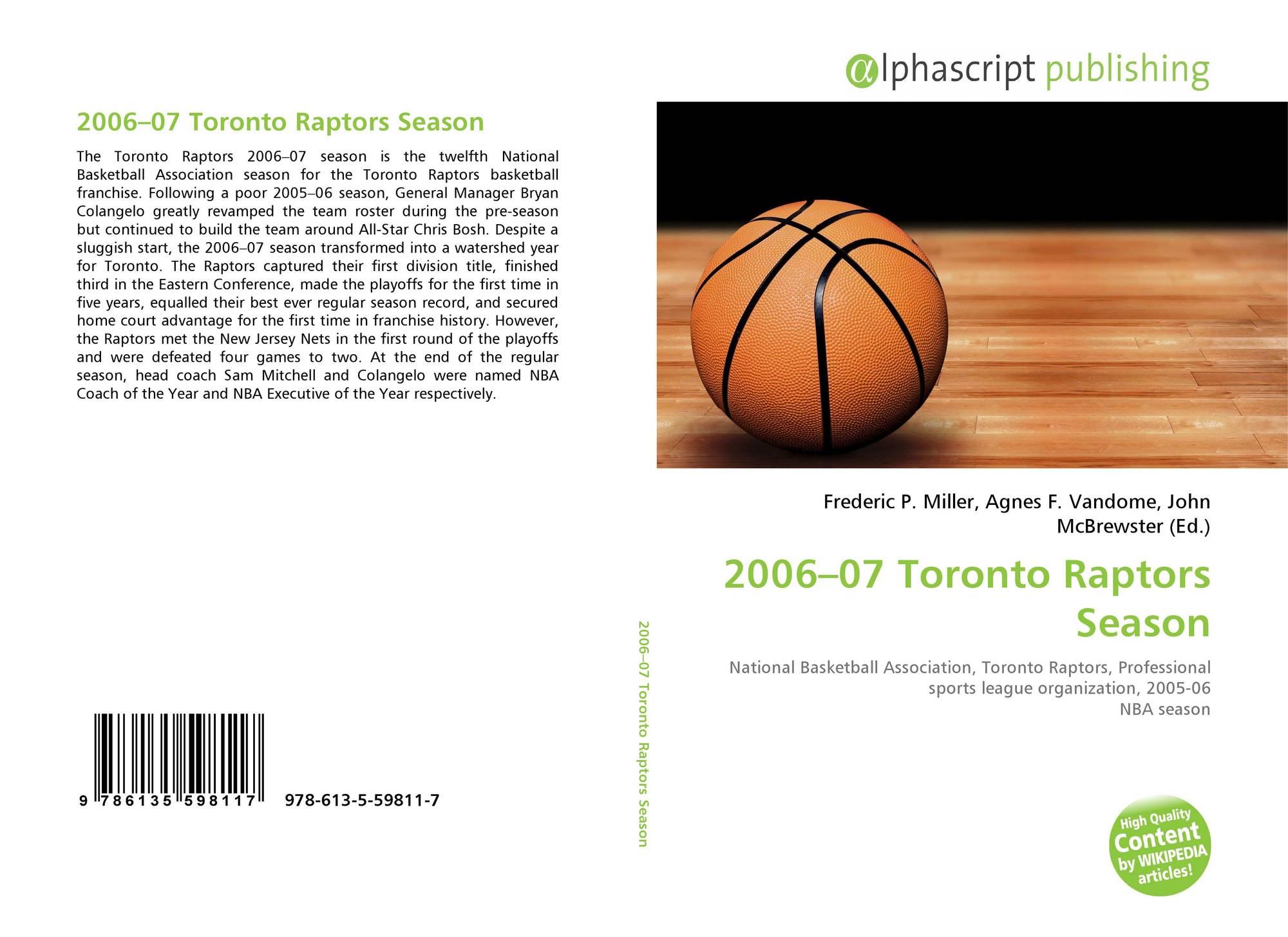 3f81da9d4ca 2006–07 Toronto Raptors Season