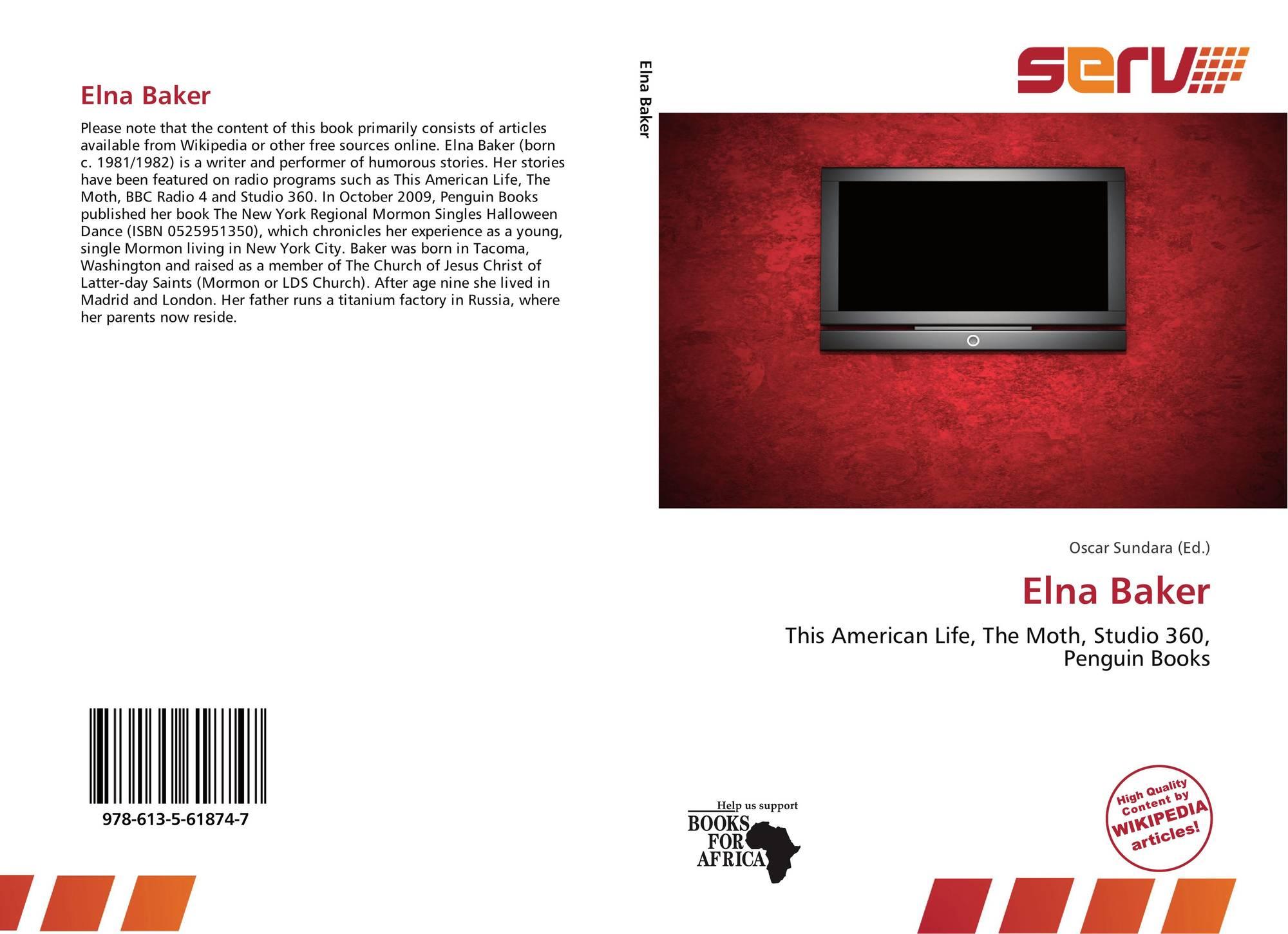 elna baker, 978-613-5-61874-7, 6135618741 ,9786135618747
