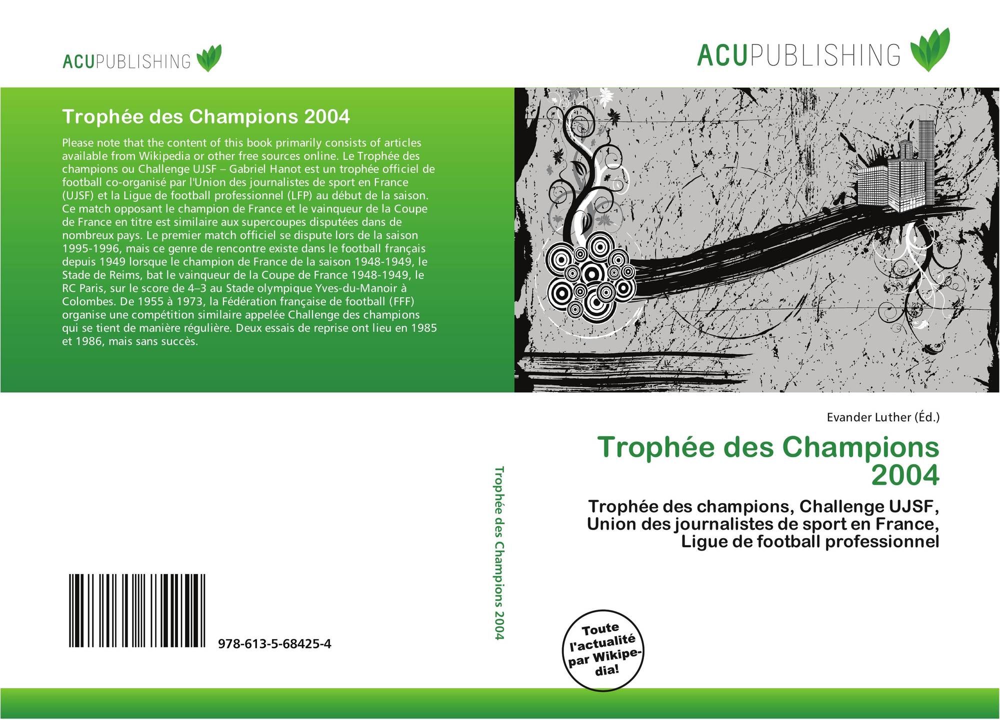 Trophée des Champions 2004, 978-613-5-68425-4, 6135684256 ...