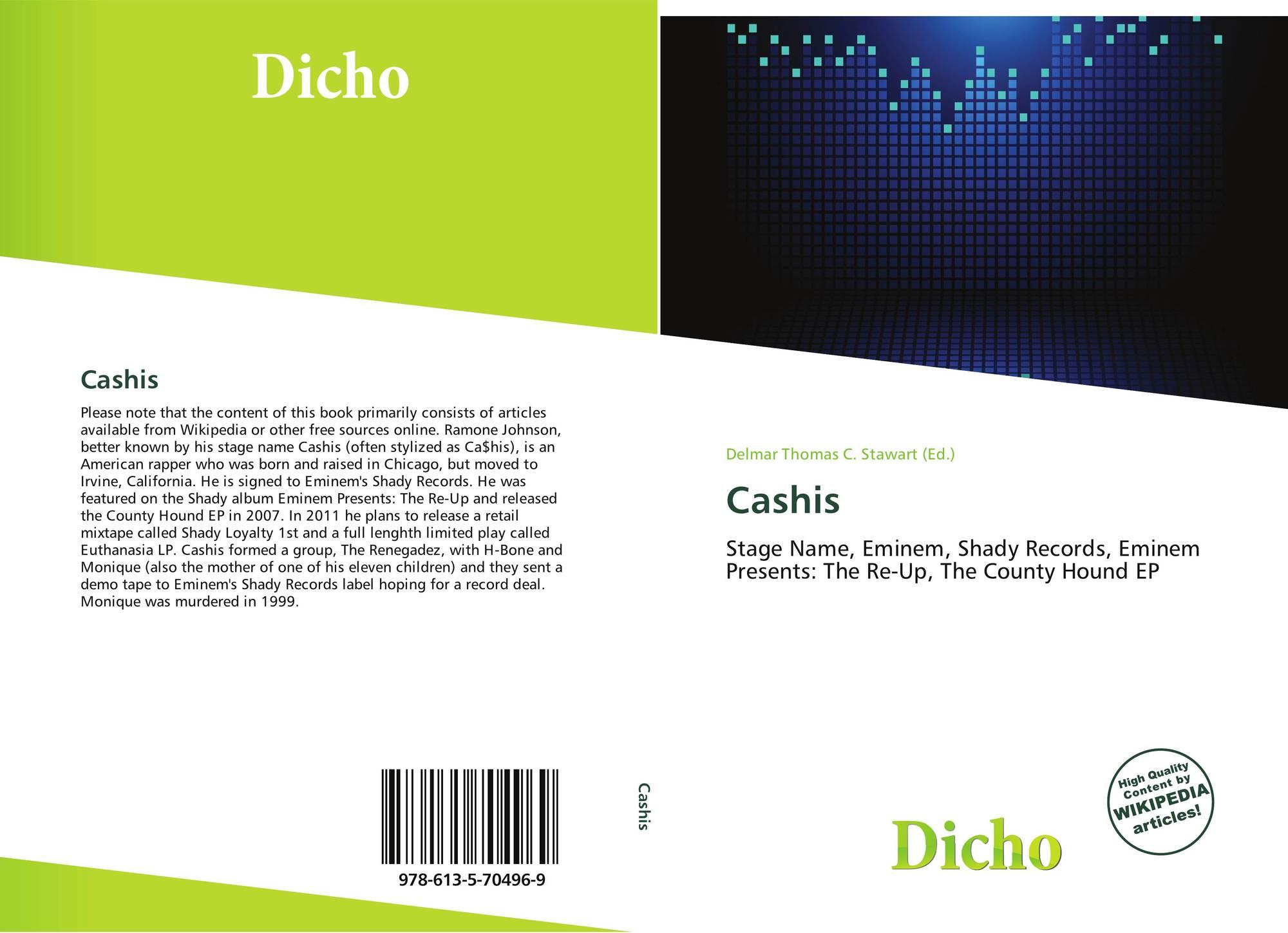 Cashis, 978-613-5-70496-9, 6135704966 ,9786135704969