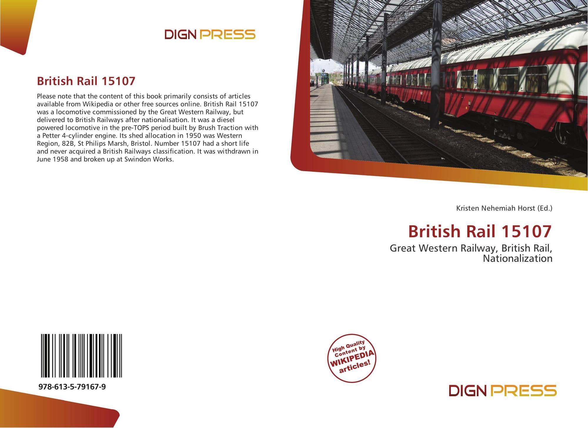 British Rail 15107, 978-613-5-79167-9, 6135791672 ,9786135791679