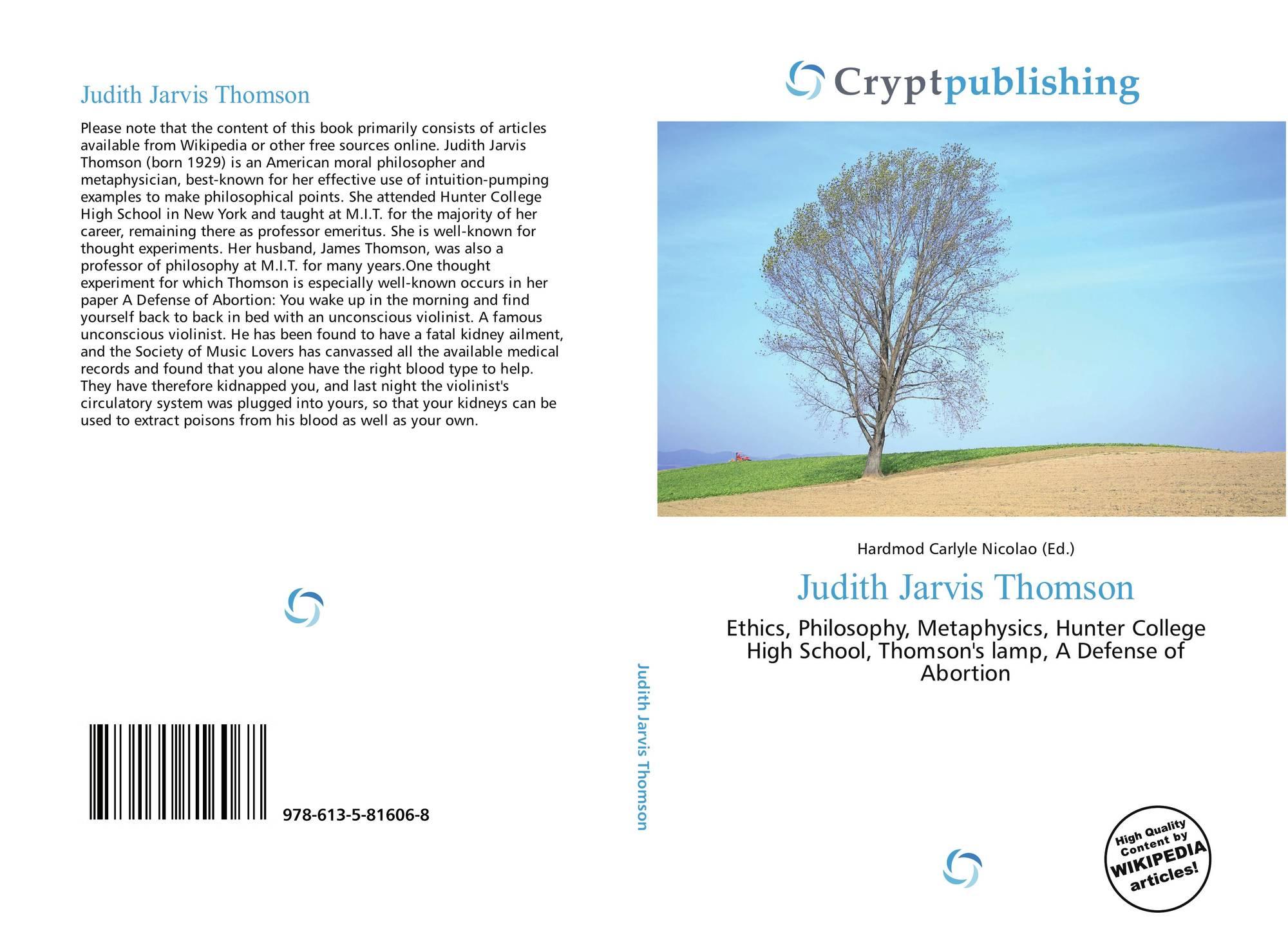 Judith Jarvis Thomson