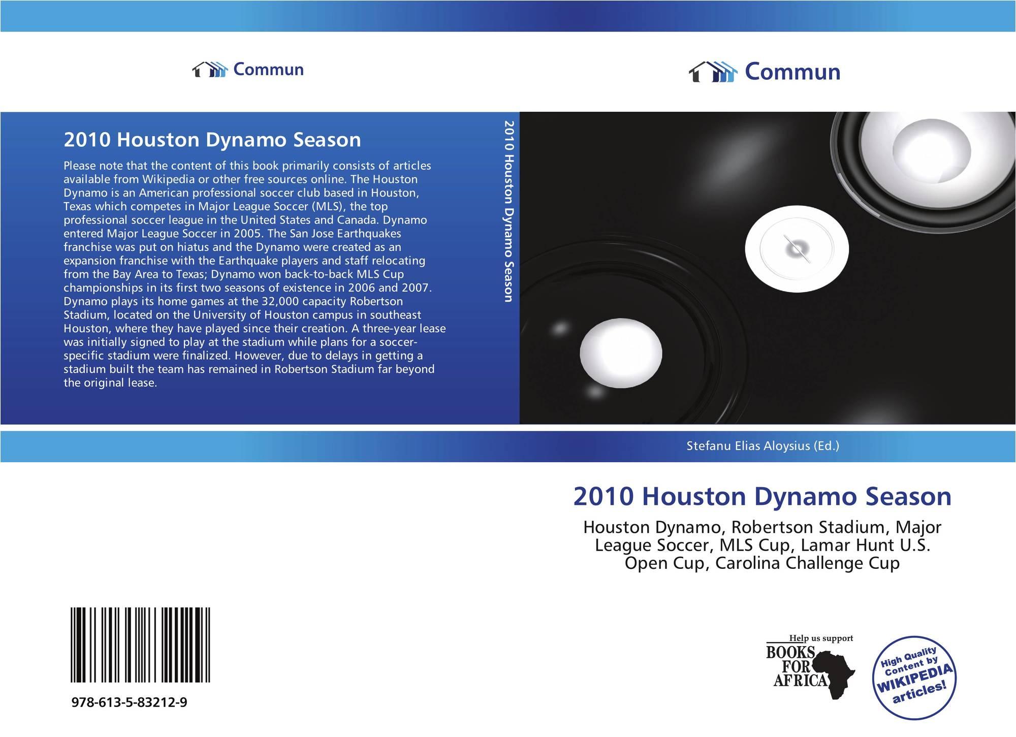 2010 Houston Dynamo Season, 978-613-5-83212-9, 6135832123 ...