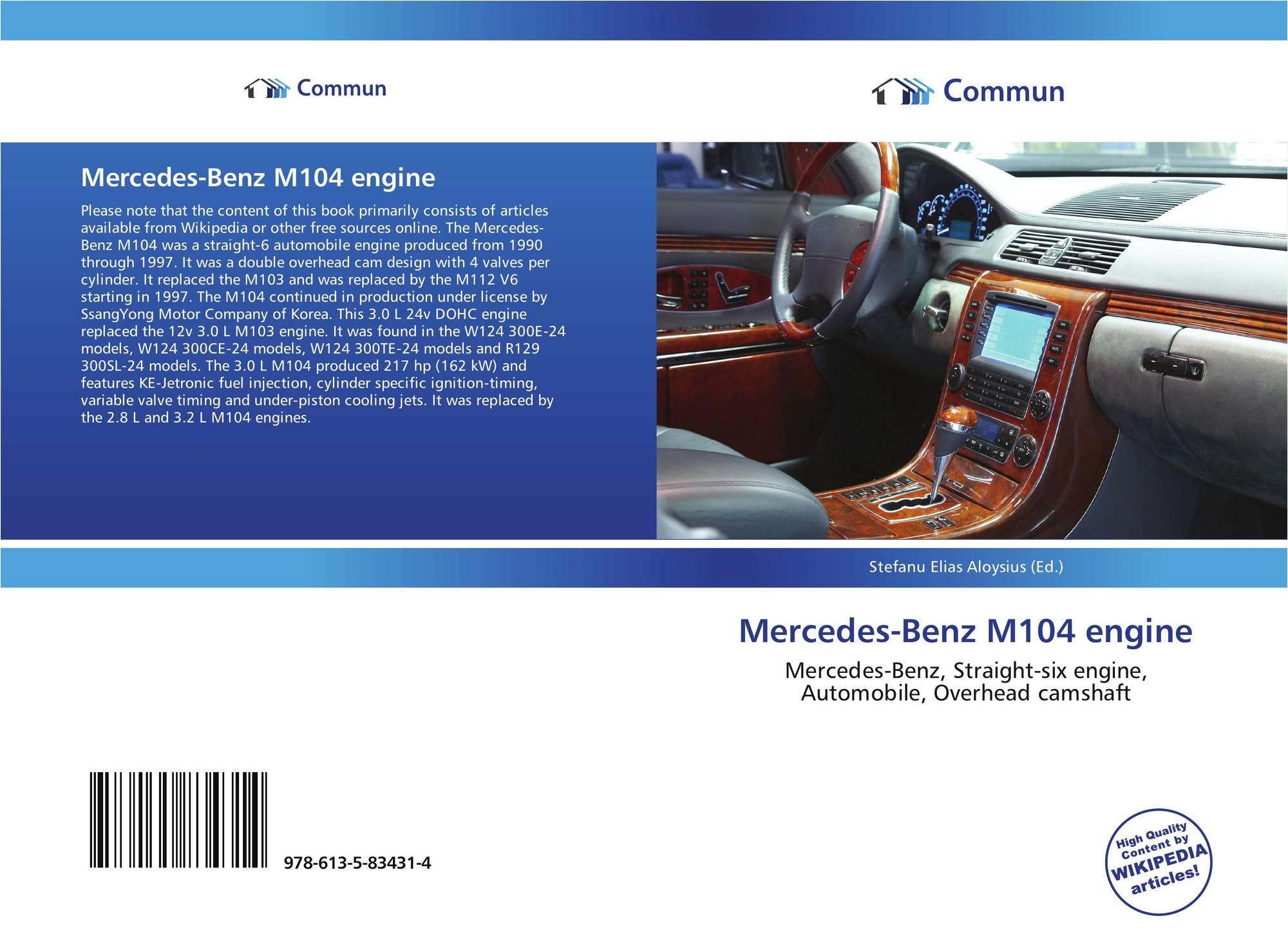Mercedes-Benz M104 engine, 978-613-5-83431-4, 6135834312