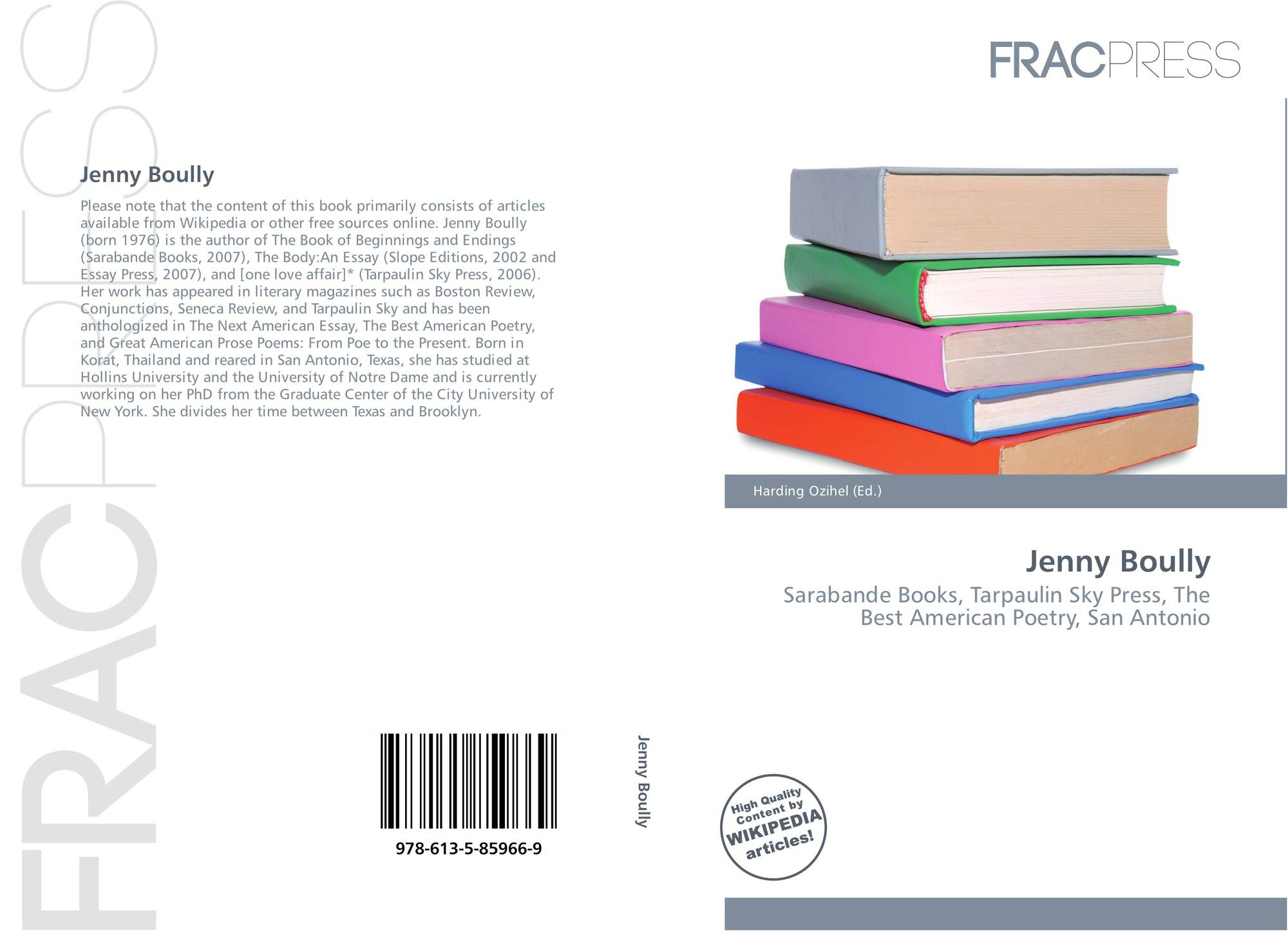 the body an essay jenny boully review Interviewed by anthony michael morena jenny boully is the author of five jenny boully: an interview in questions from her books and the body: an essay.