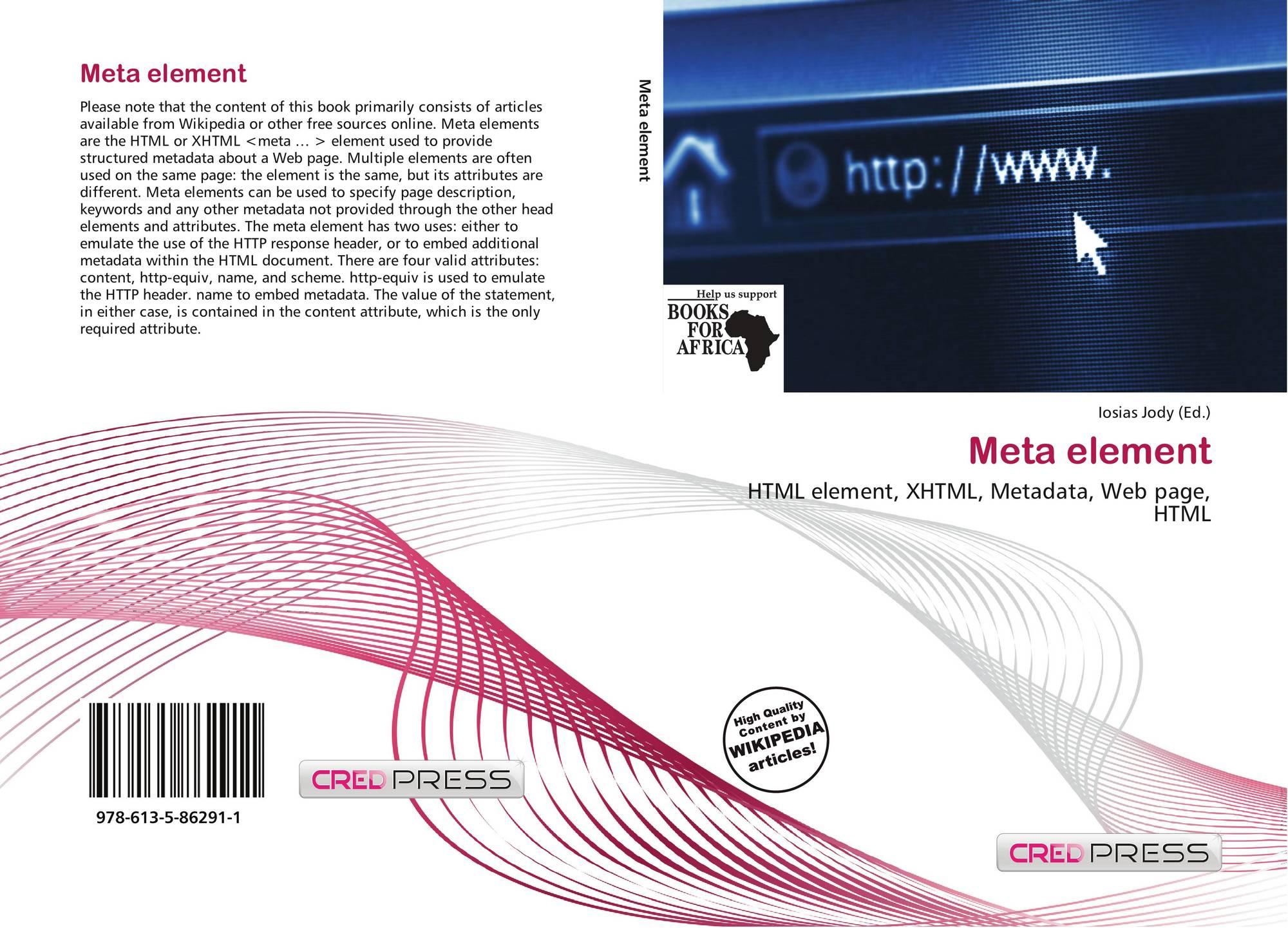 Meta Element, 978-613-5-86291-1, 613586291X ,9786135862911