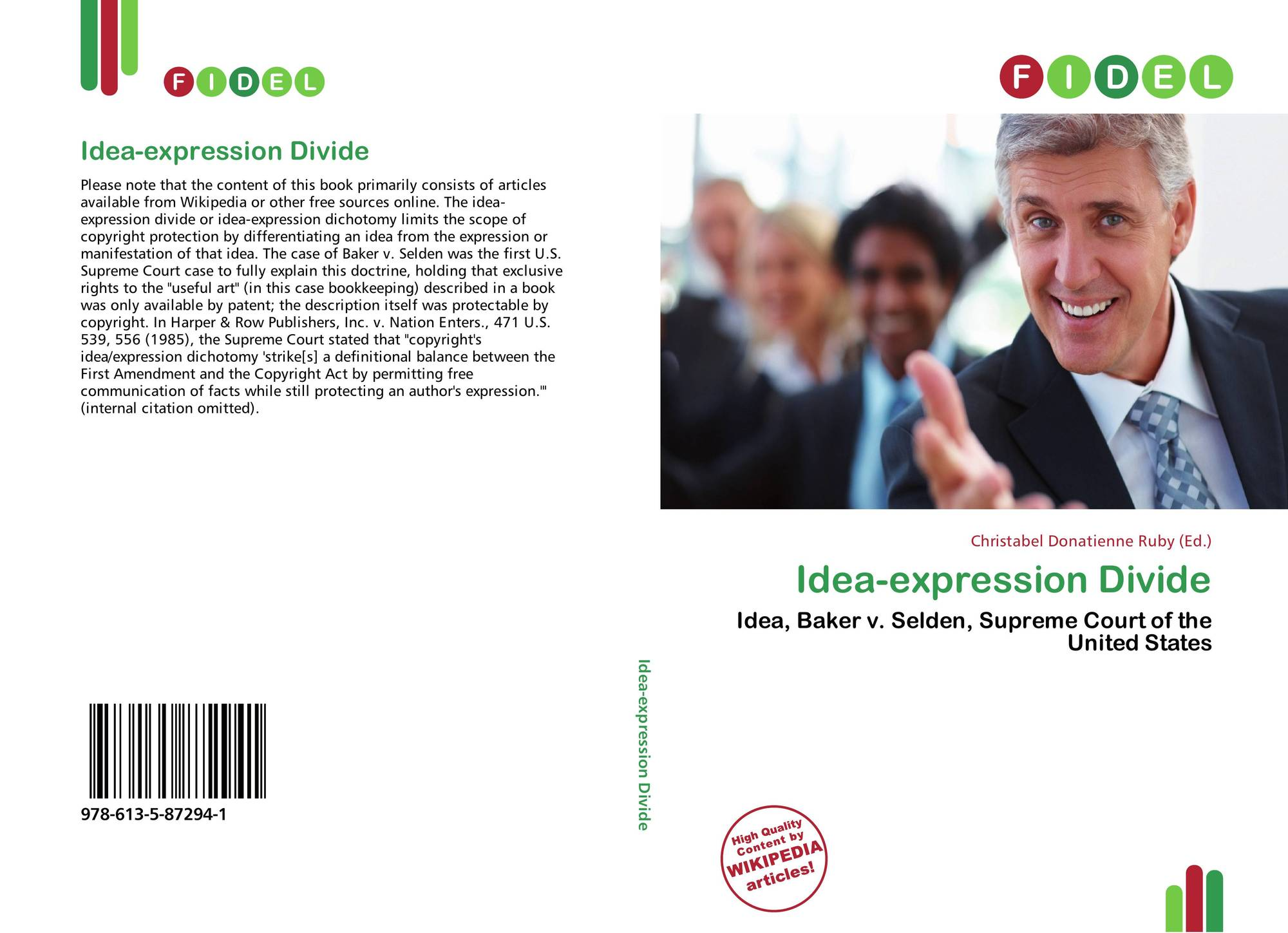 Idea Expression Dichotomy in Copyright Law