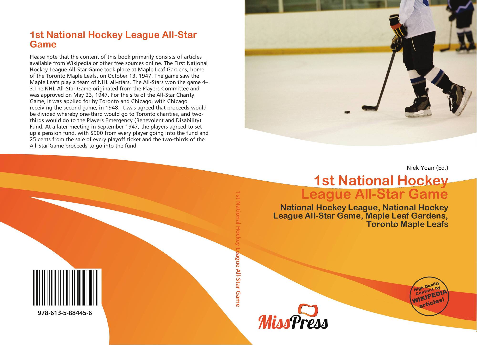 1st National Hockey League All Star Game 978 613 5 88445 6