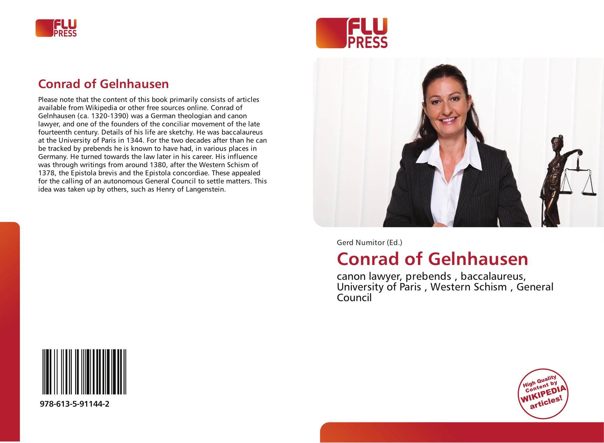 Conrad of Gelnhausen, 978-613-5-91144-2, 6135911449