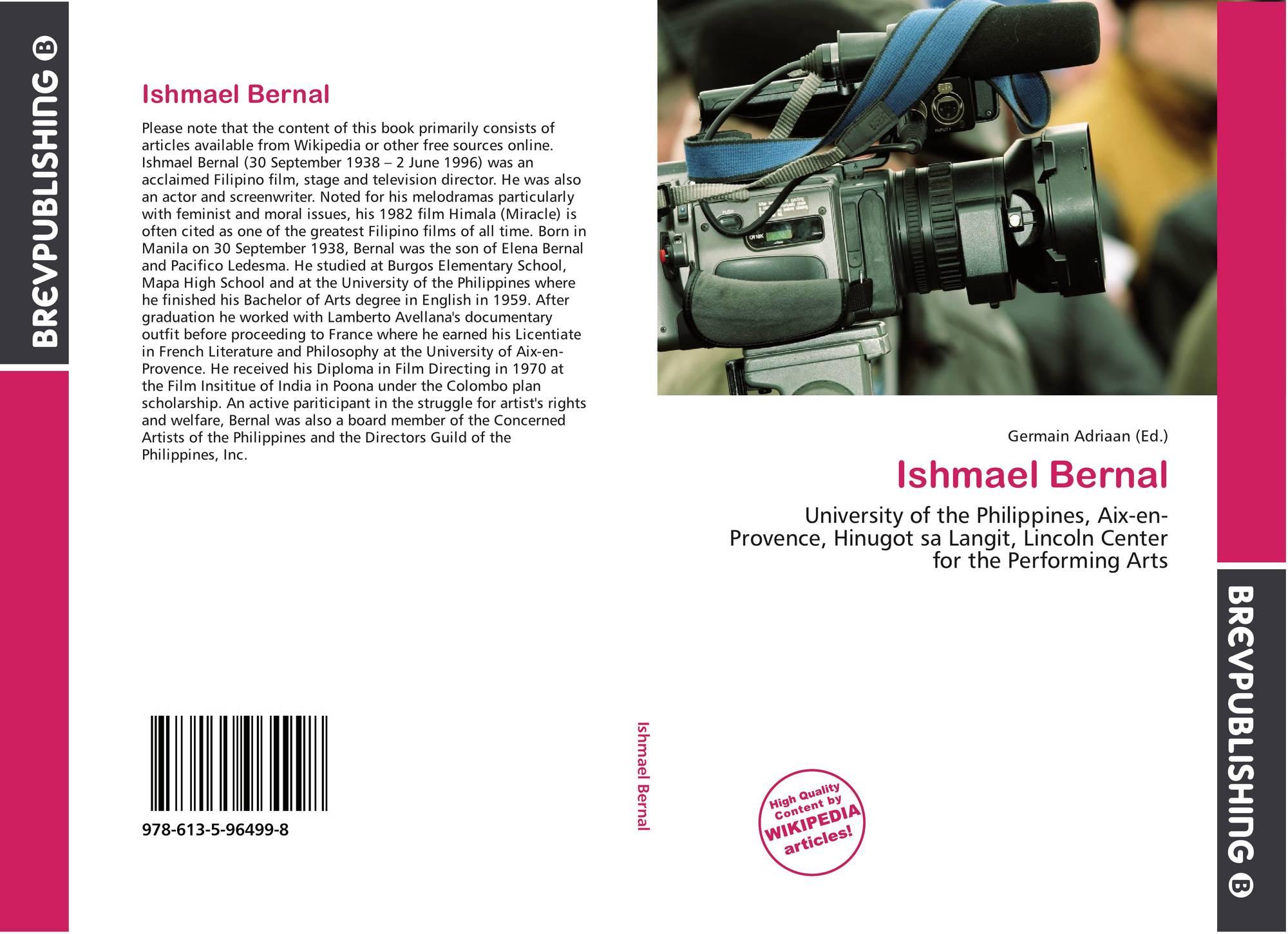 ishmael bernal and religious interpretations
