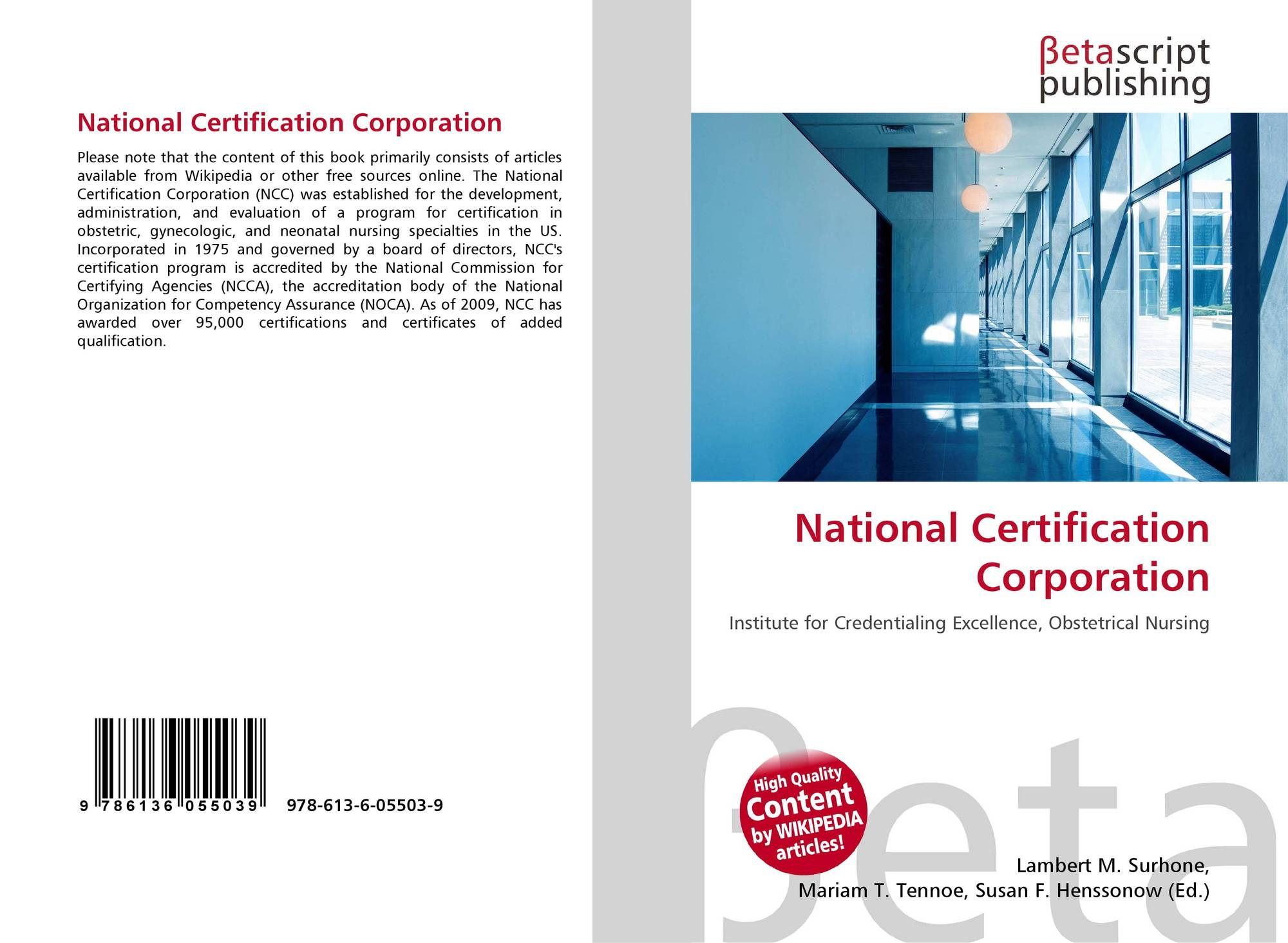 Search results for national oil corporation bookcover of national certification corporation 1betcityfo Image collections