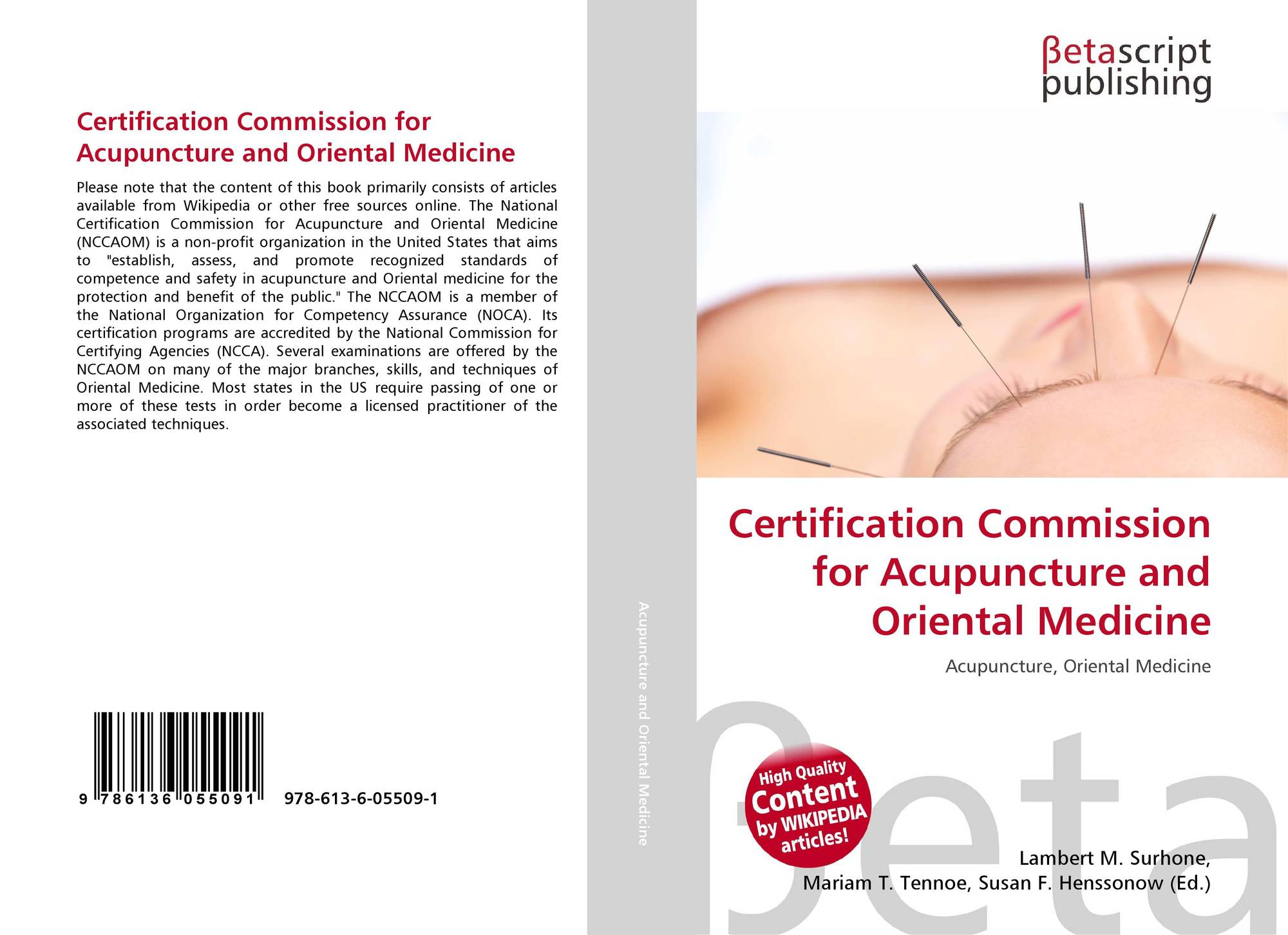 Certification Commission for Acupuncture and Oriental