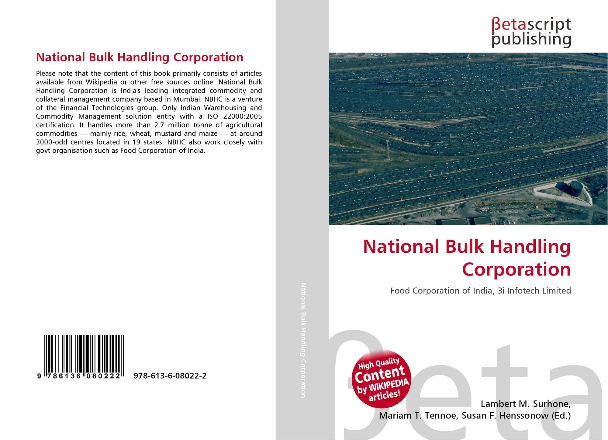 Search results for national oil corporation bookcover of national bulk handling corporation 1betcityfo Image collections