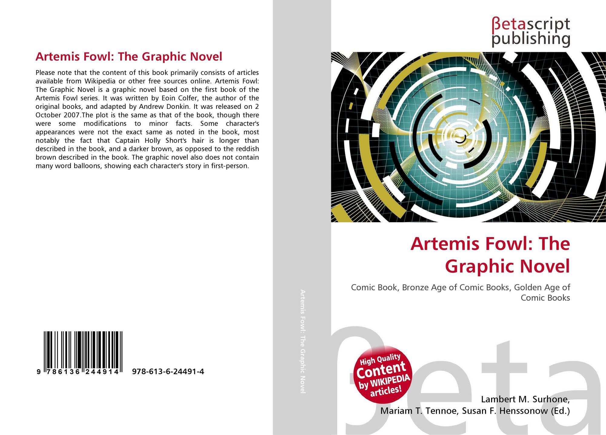 Artemis Fowl The Graphic Novel 978 613 6 24491 4