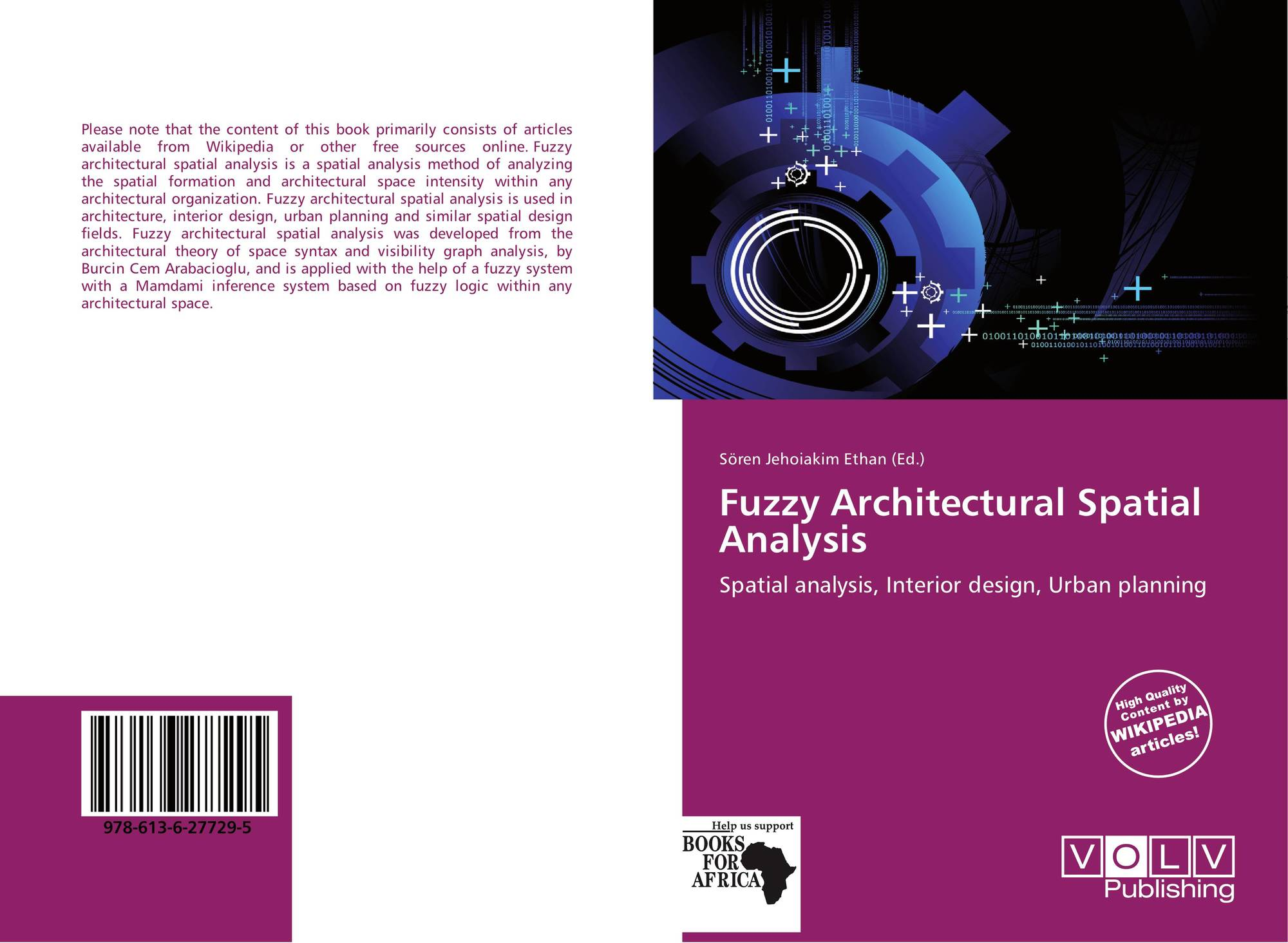 Fuzzy architectural spatial analysis 978 613 6 27729 5 for Spatial analysis architecture