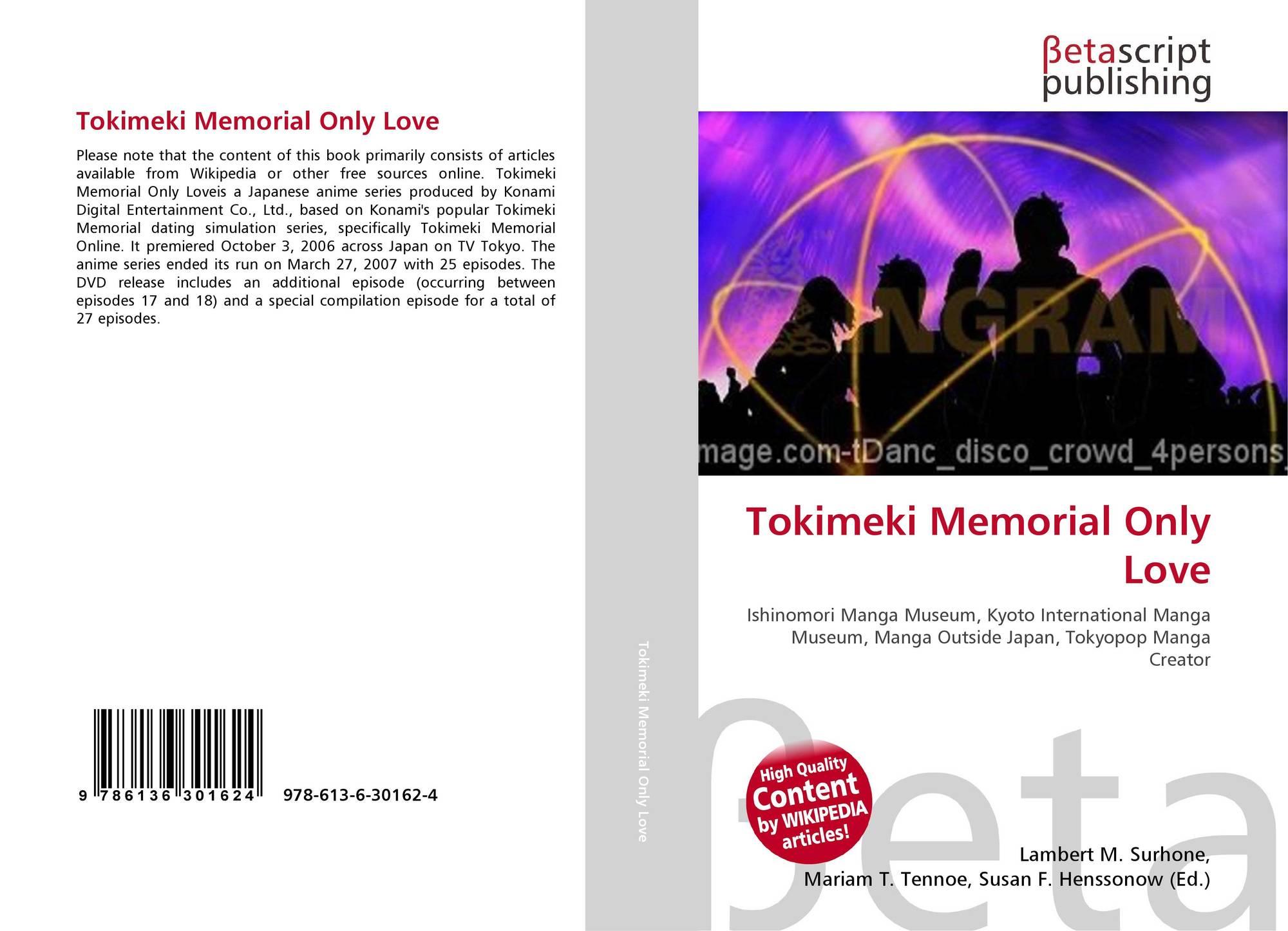 Tokimeki Memorial Only Love 978 613 6 30162 4 6136301628